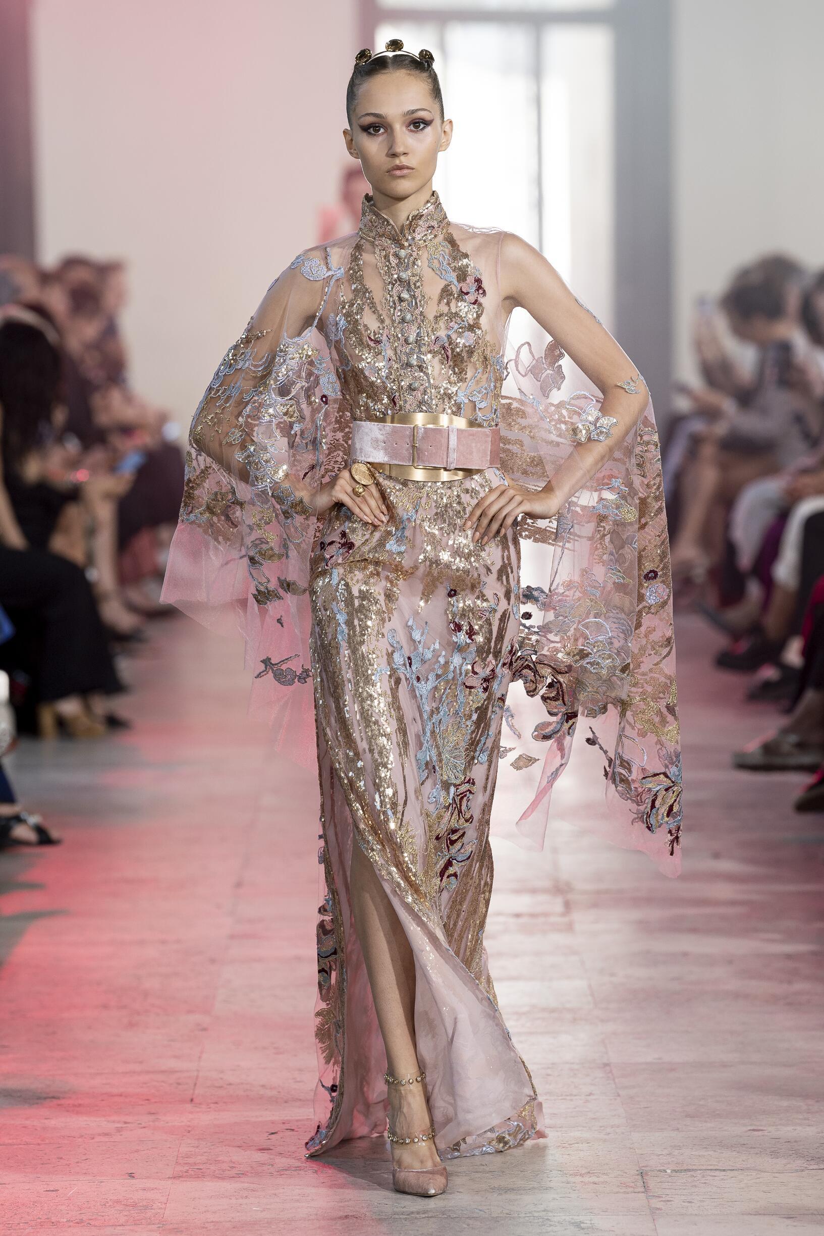 Elie Saab Haute Couture Paris Fashion Week Womenswear
