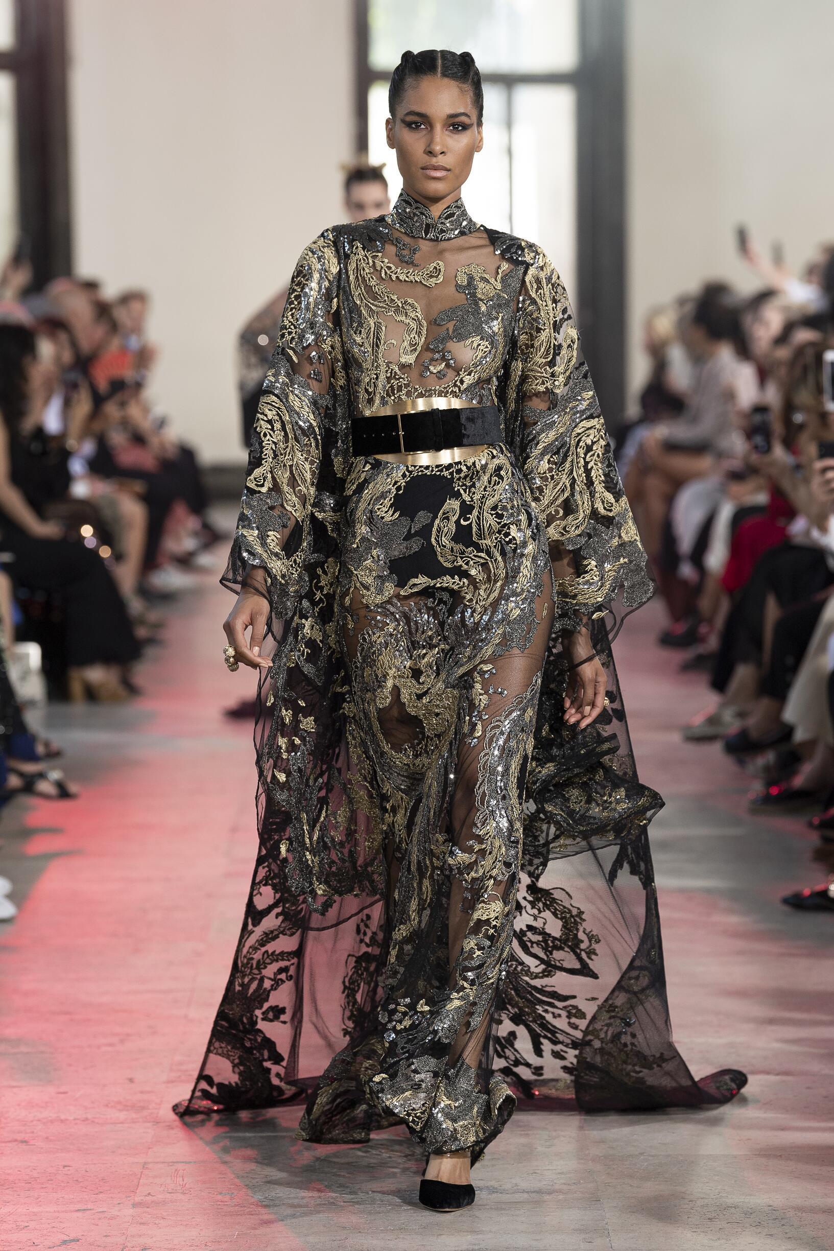 Elie Saab Haute Couture Paris Womenswear Trends