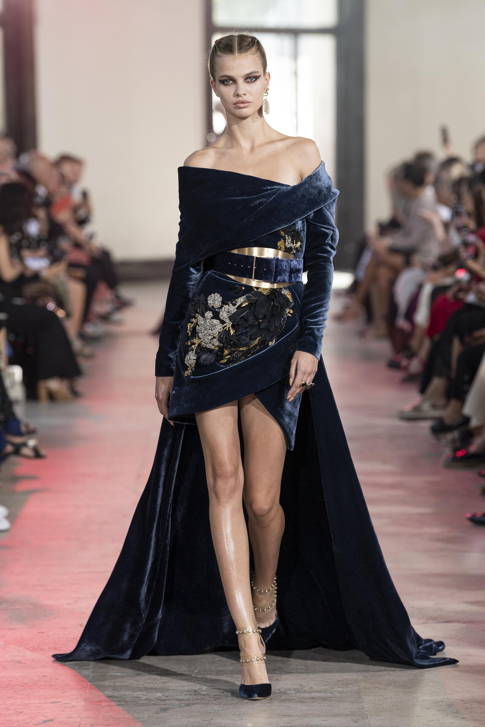 Elie Saab Haute Couture Womenswear Fashion Show