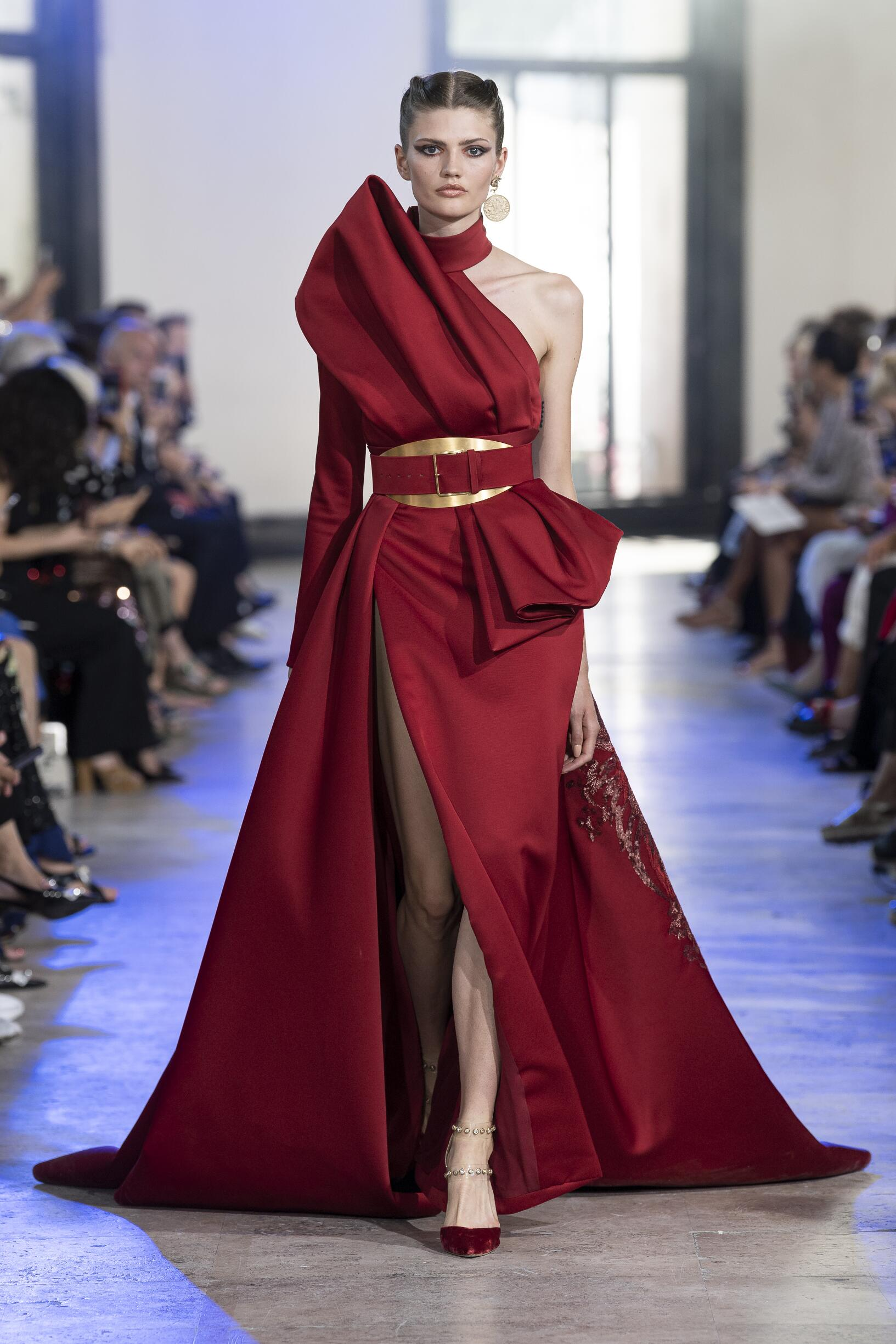 FW 2019-20 Elie Saab Haute Couture Fashion Show
