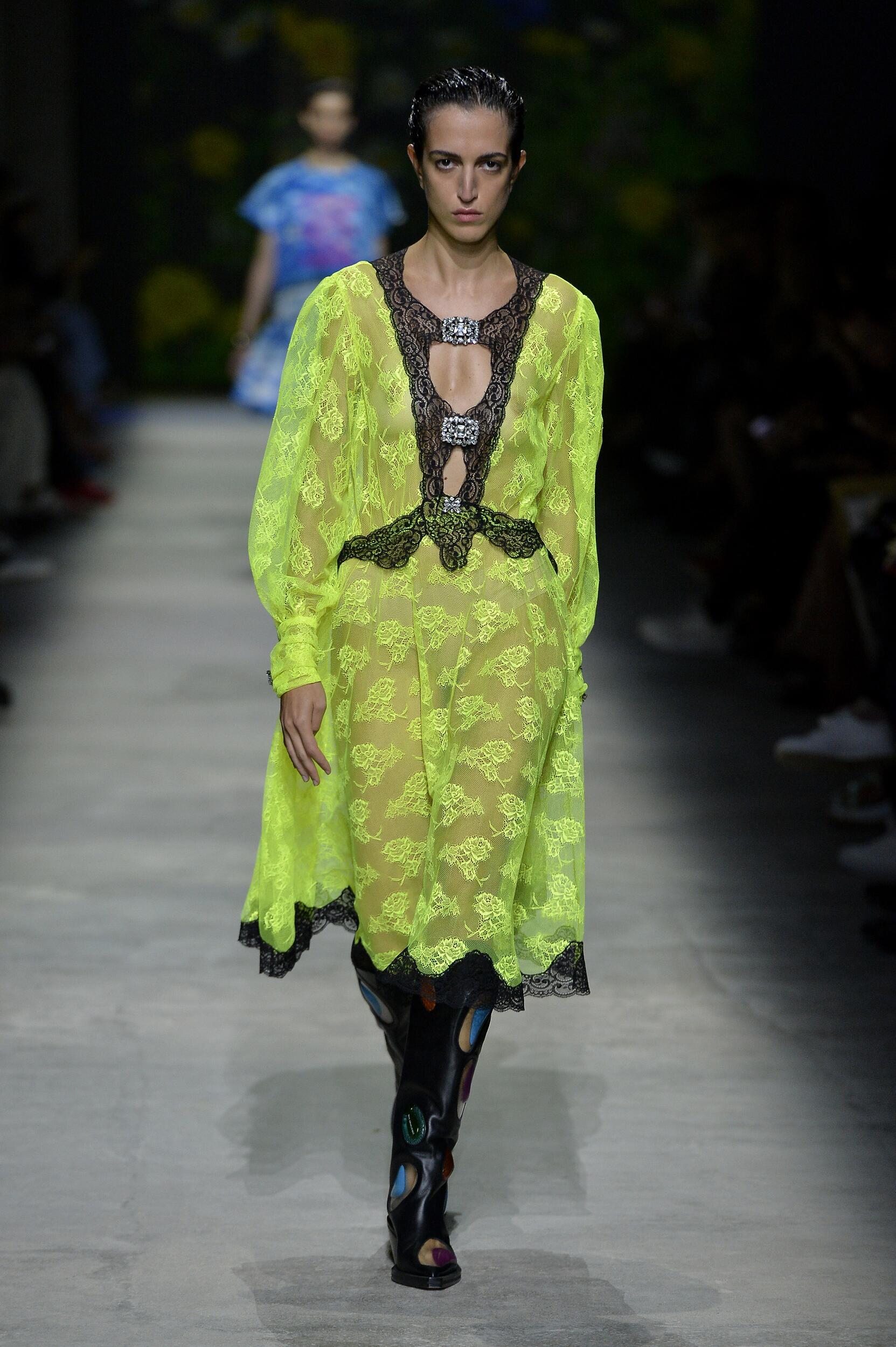 Fashion 2020 Catwalk Christopher Kane Summer