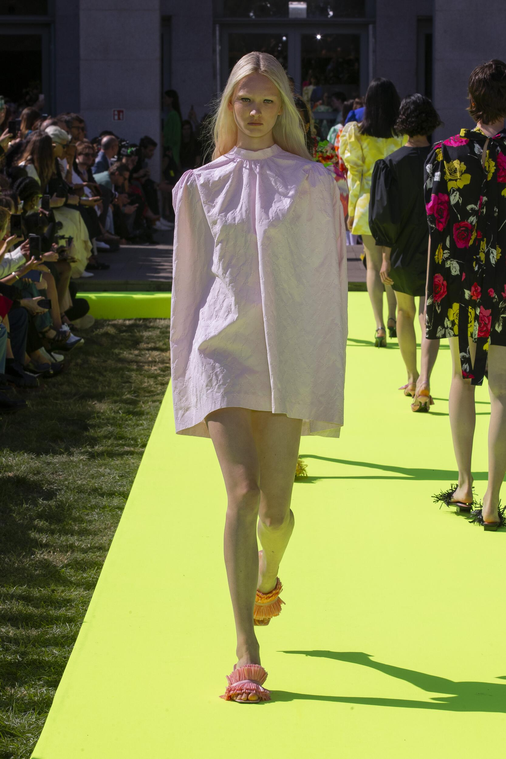 Fashion 2020 Catwalk Msgm Summer Womens Collection