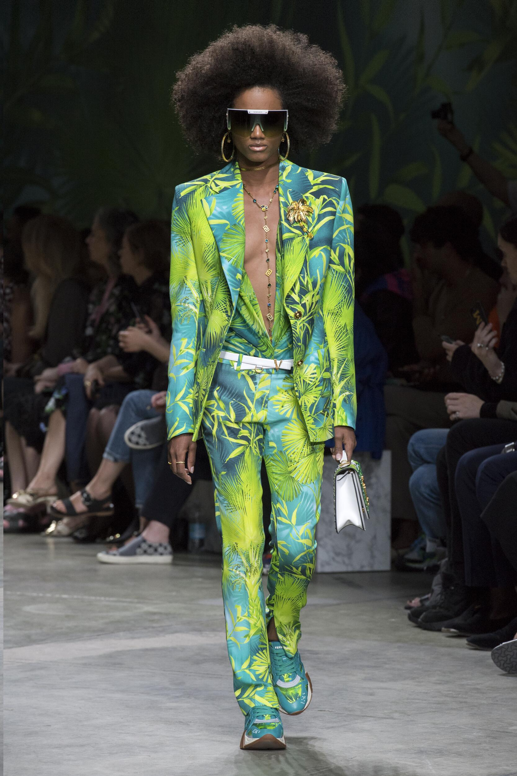 Fashion 2020 Catwalk Versace Summer