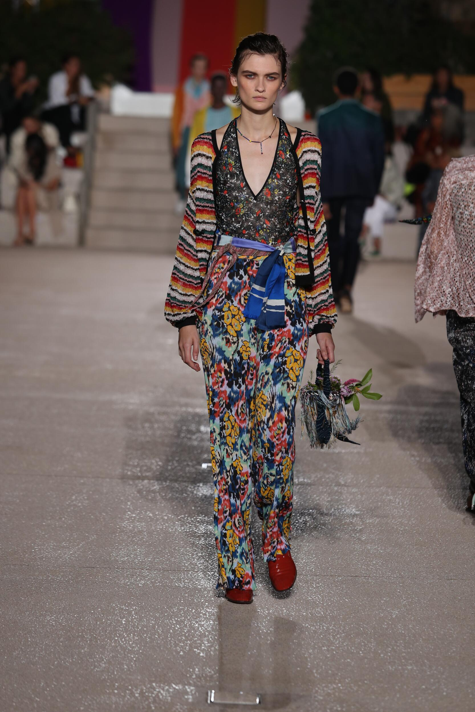 Fashion 2020 Runway Missoni Summer