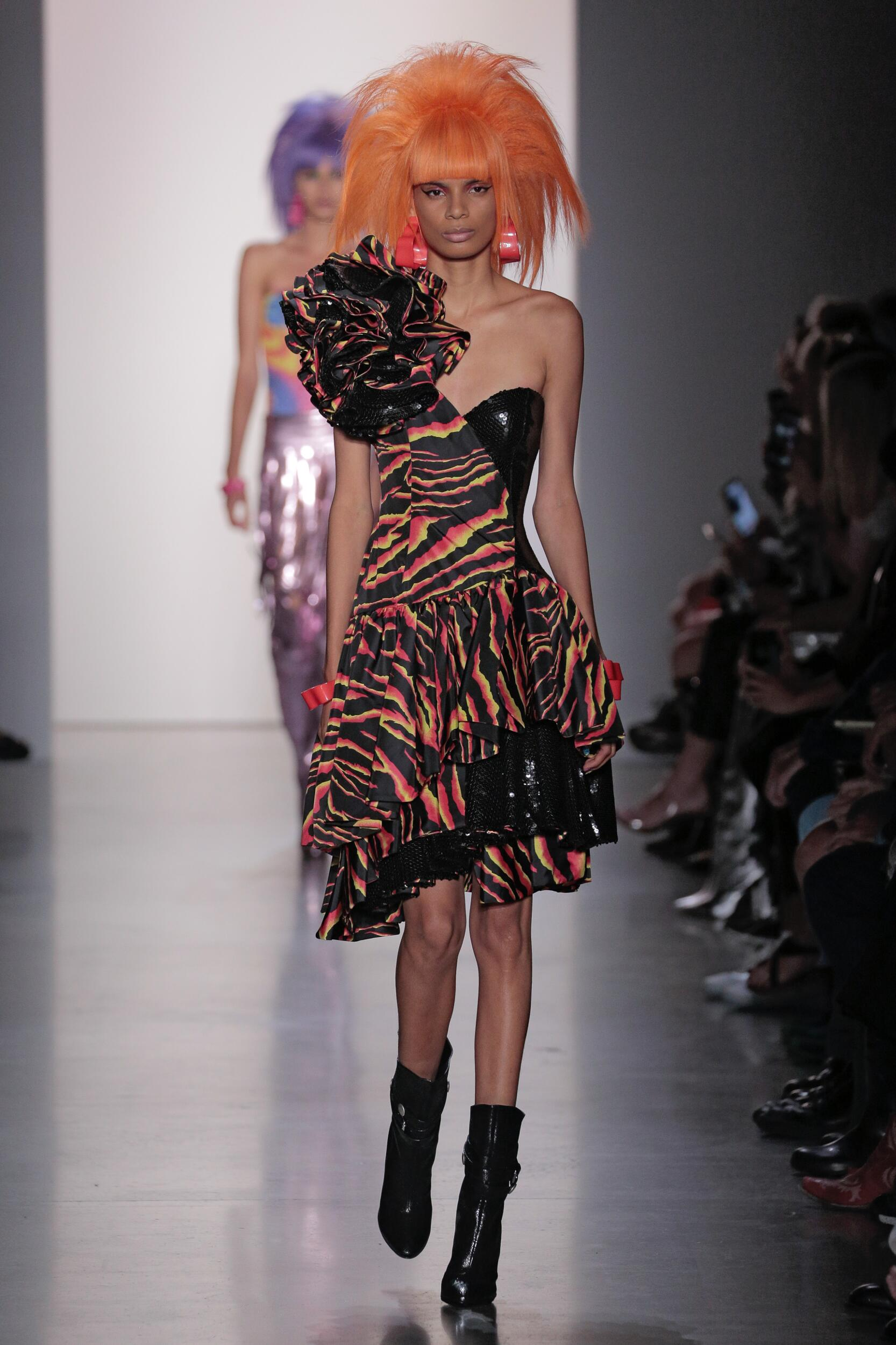 Fashion Model Jeremy Scott Catwalk