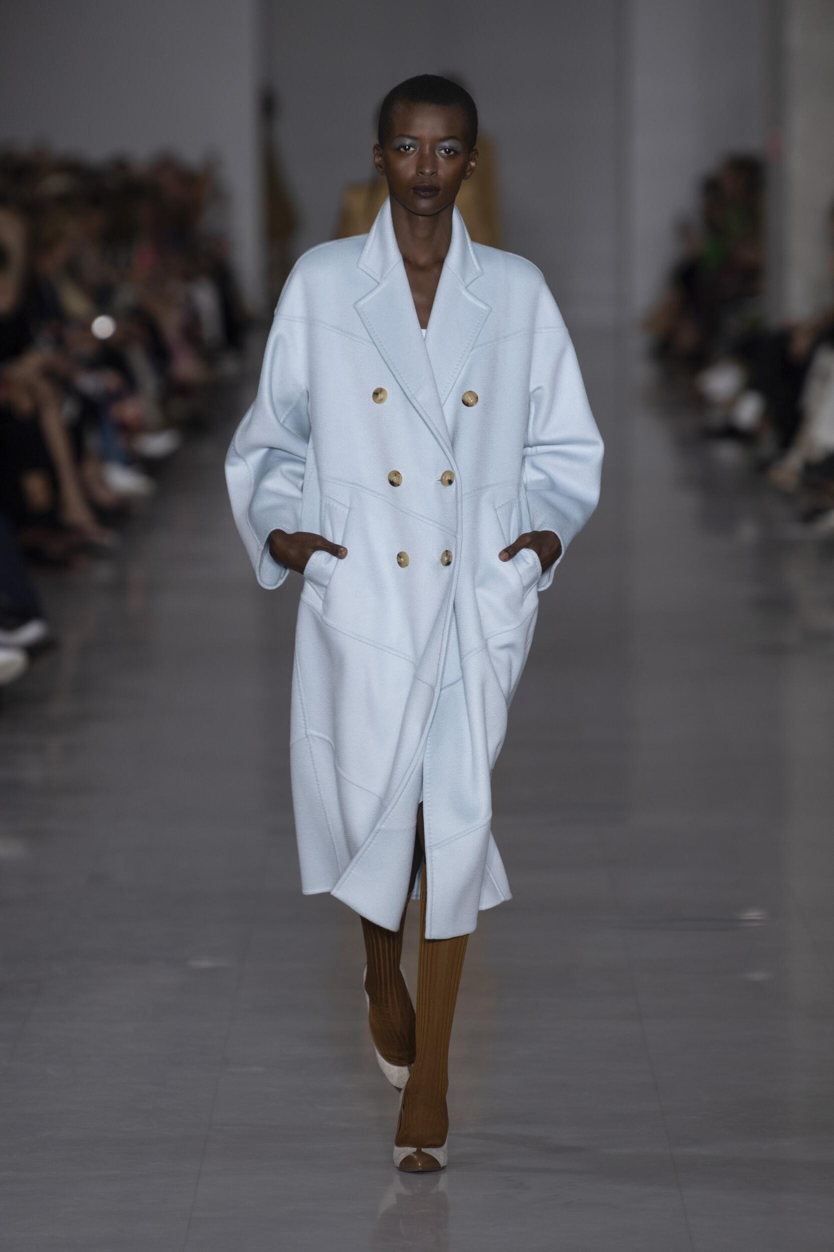 Fashion Model Max Mara Catwalk