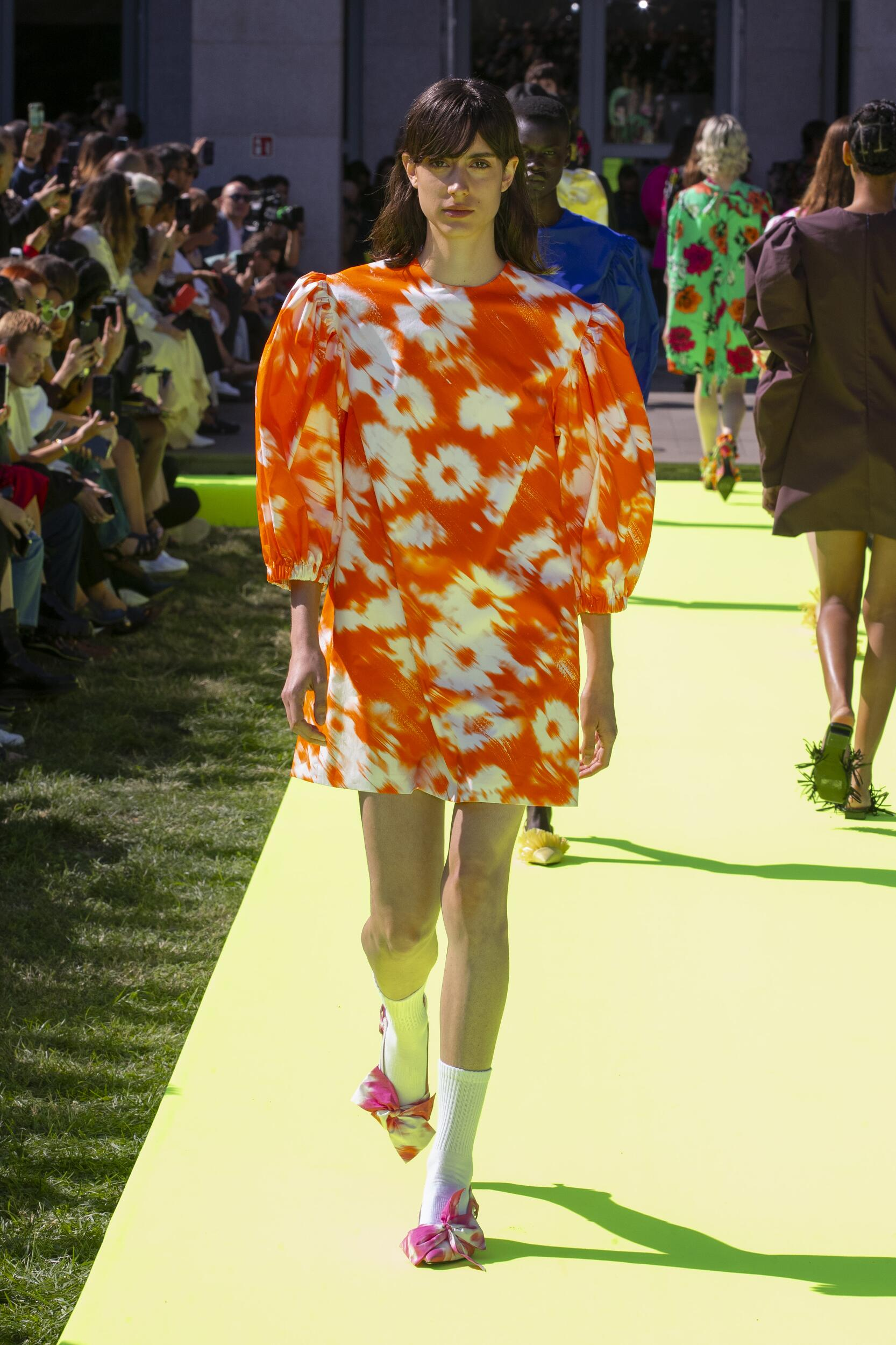 Fashion Week 2020 Catwalk Msgm