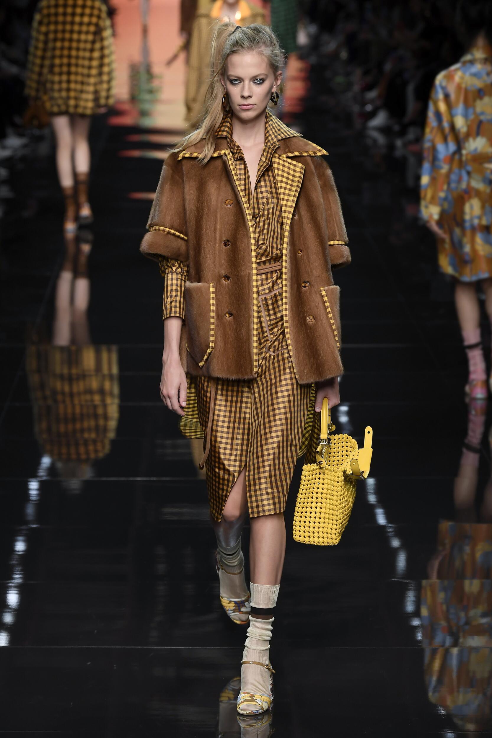 Fendi Spring Summer 2020 Collection Milan Fashion Week