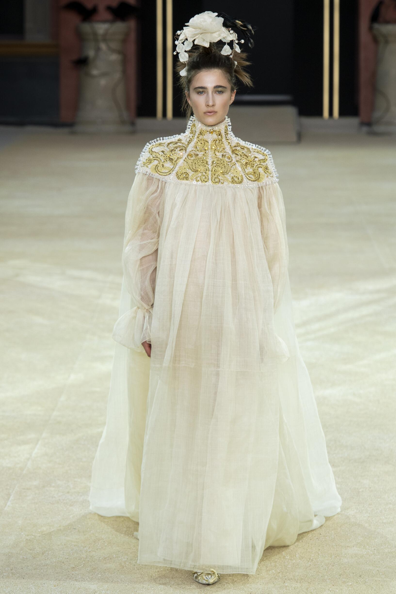 Guo Pei Haute Couture Catwalk