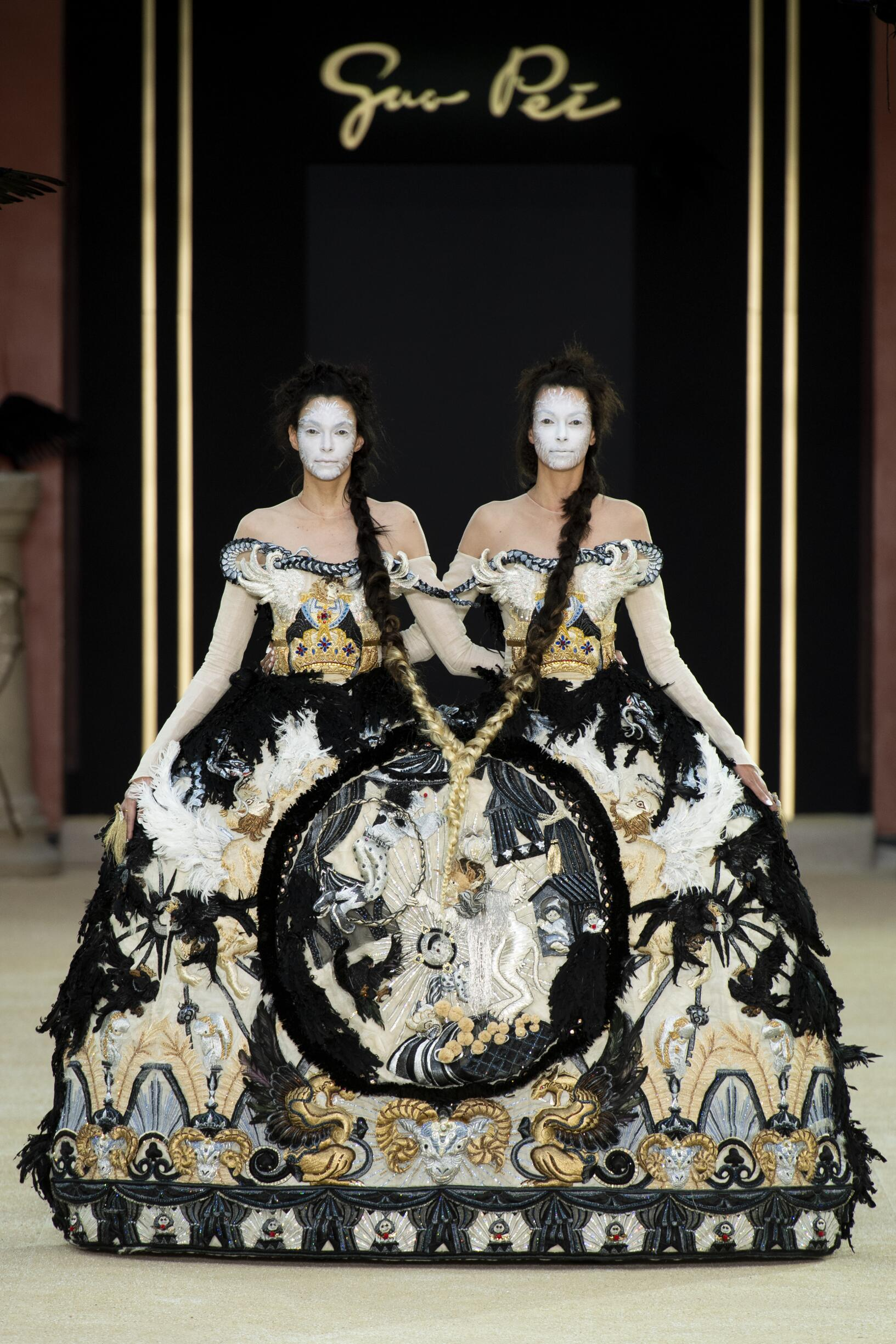 Guo Pei Haute Couture Fashion Show FW 2019-2020