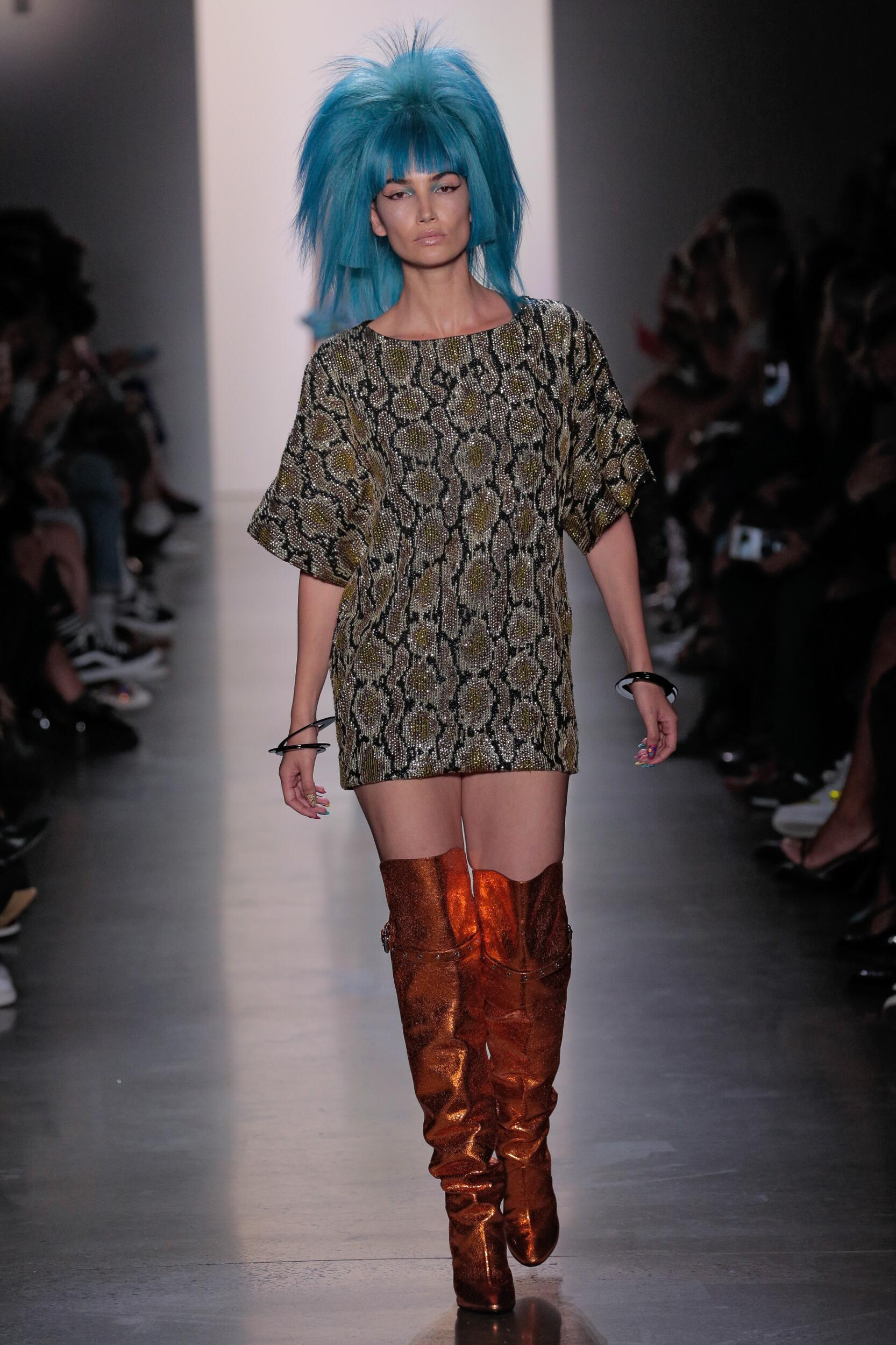Jeremy Scott 2020 New York Trends
