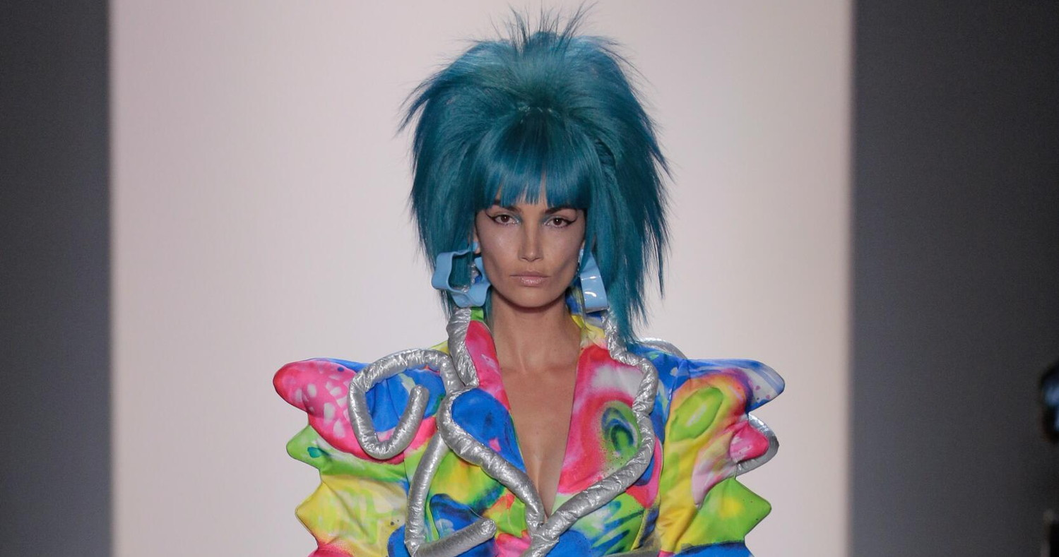Jeremy Scott Fashion Show SS 2020 New-York