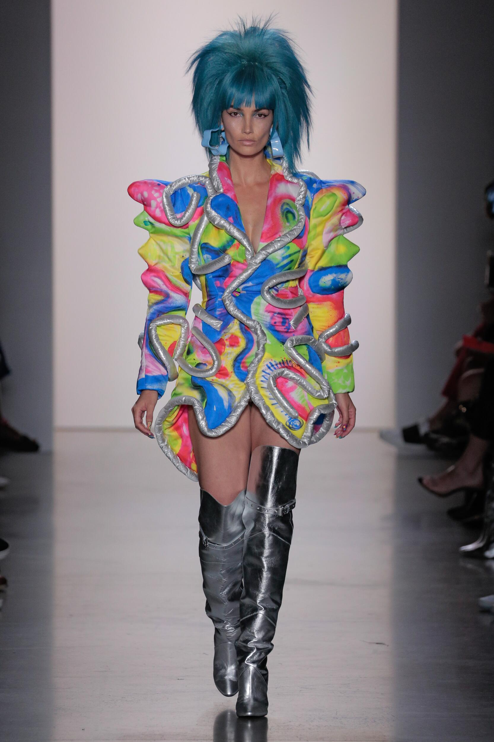Jeremy Scott Fashion Show SS 2020