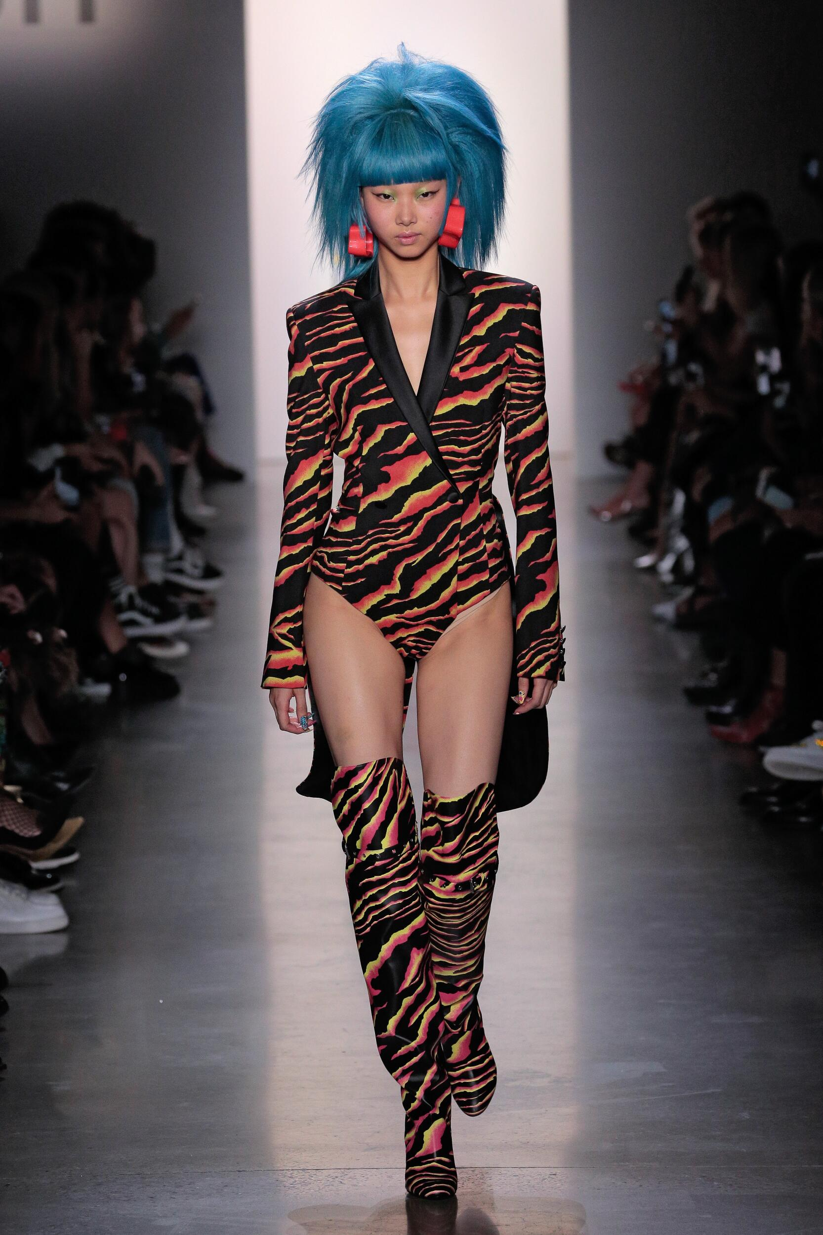 Jeremy Scott Fashion Show
