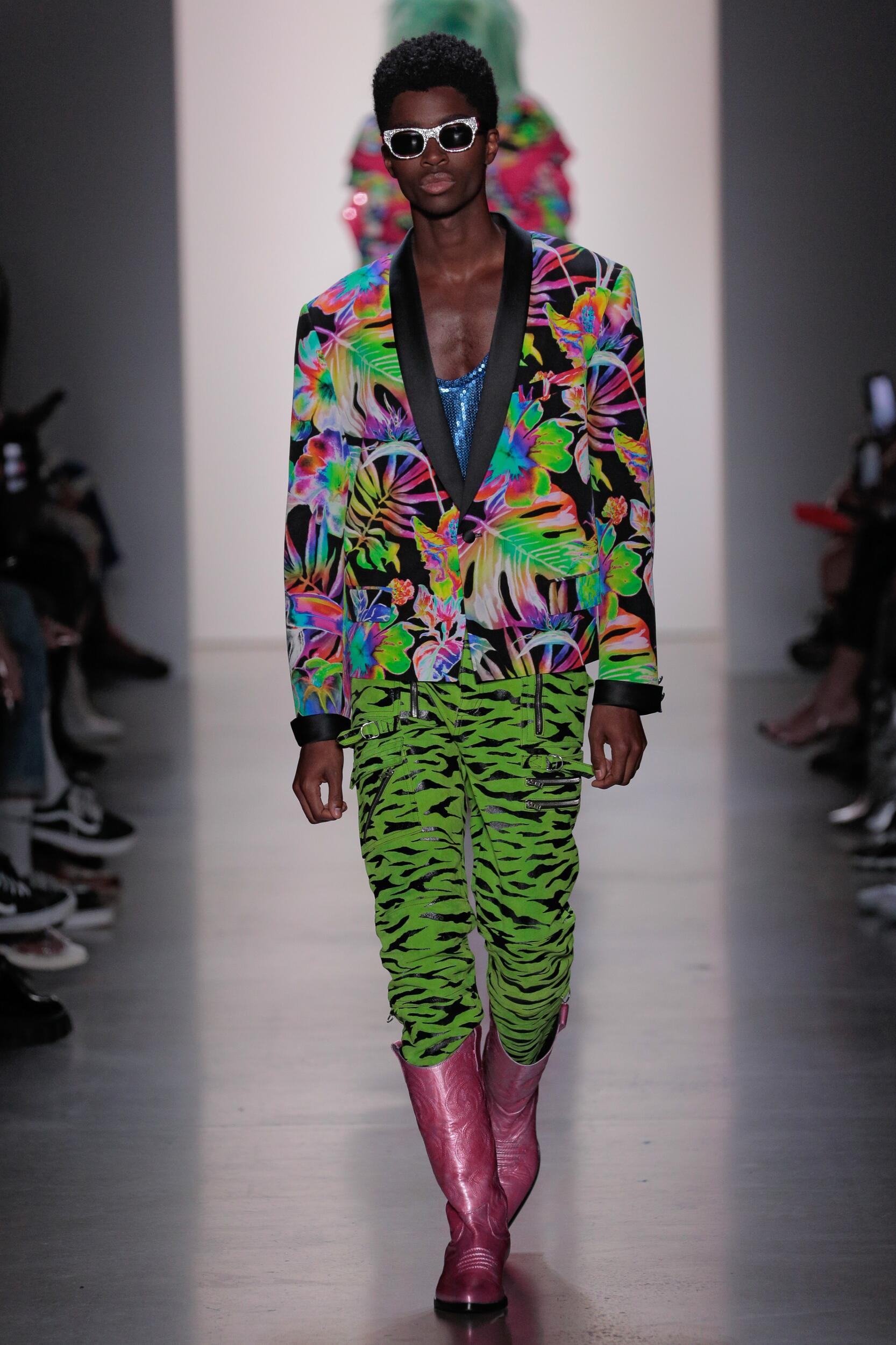 Jeremy Scott Summer 2020 Catwalk