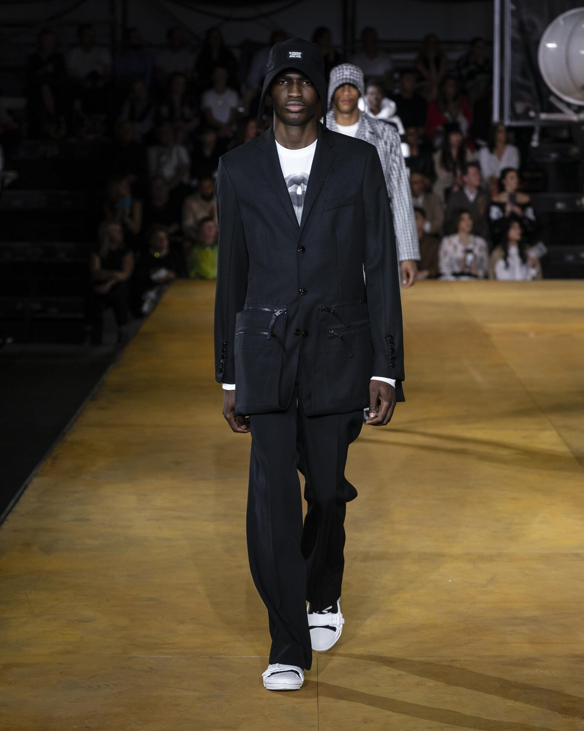 Man SS 2020 Burberry Show London Fashion