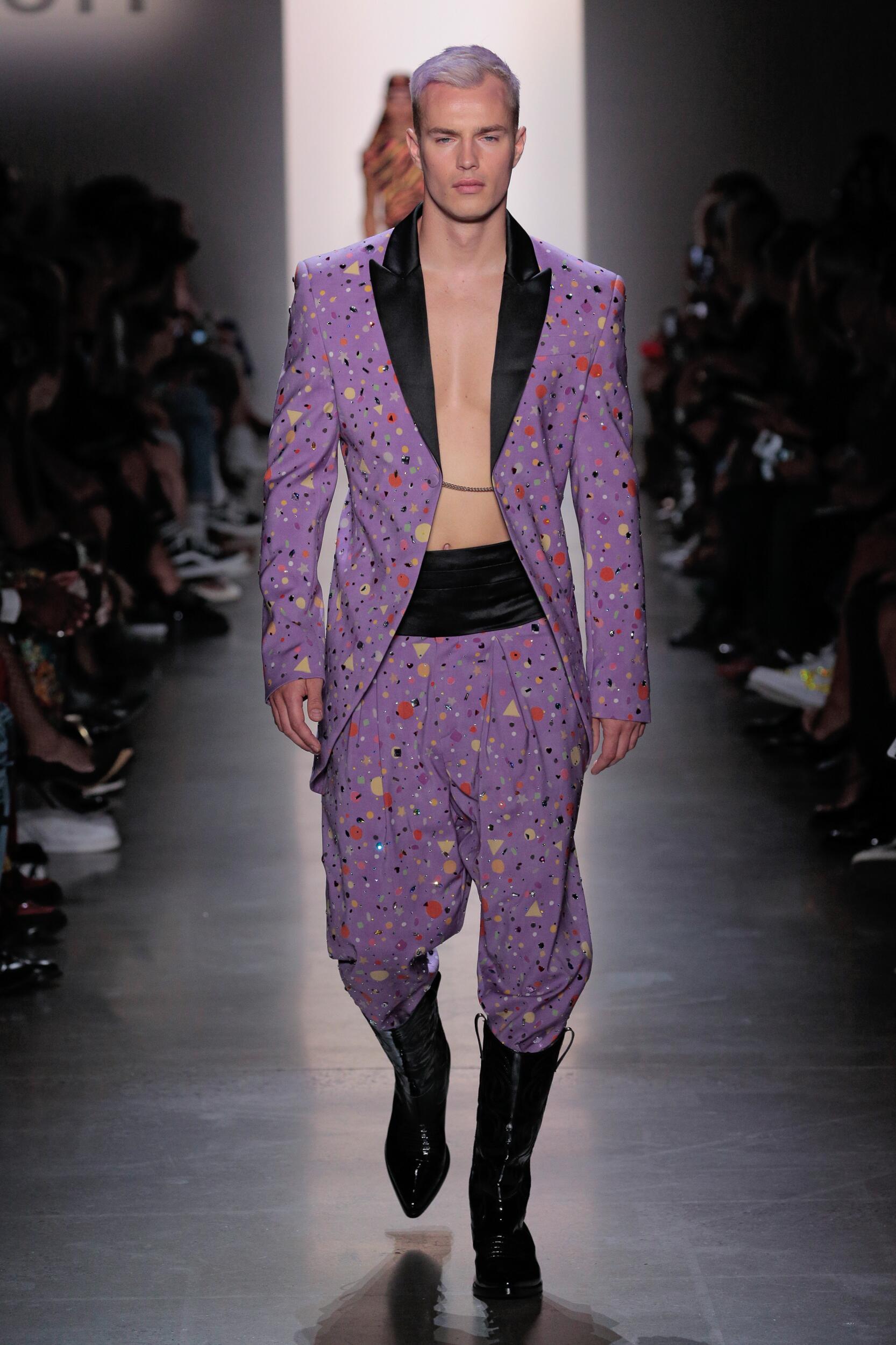 Man SS 2020 Jeremy Scott Show New York Fashion Week
