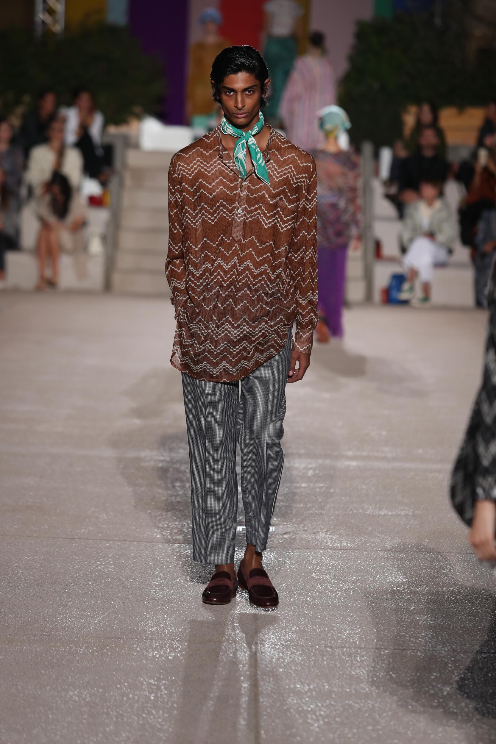 Man SS 2020 Missoni Show Milan Fashion Week