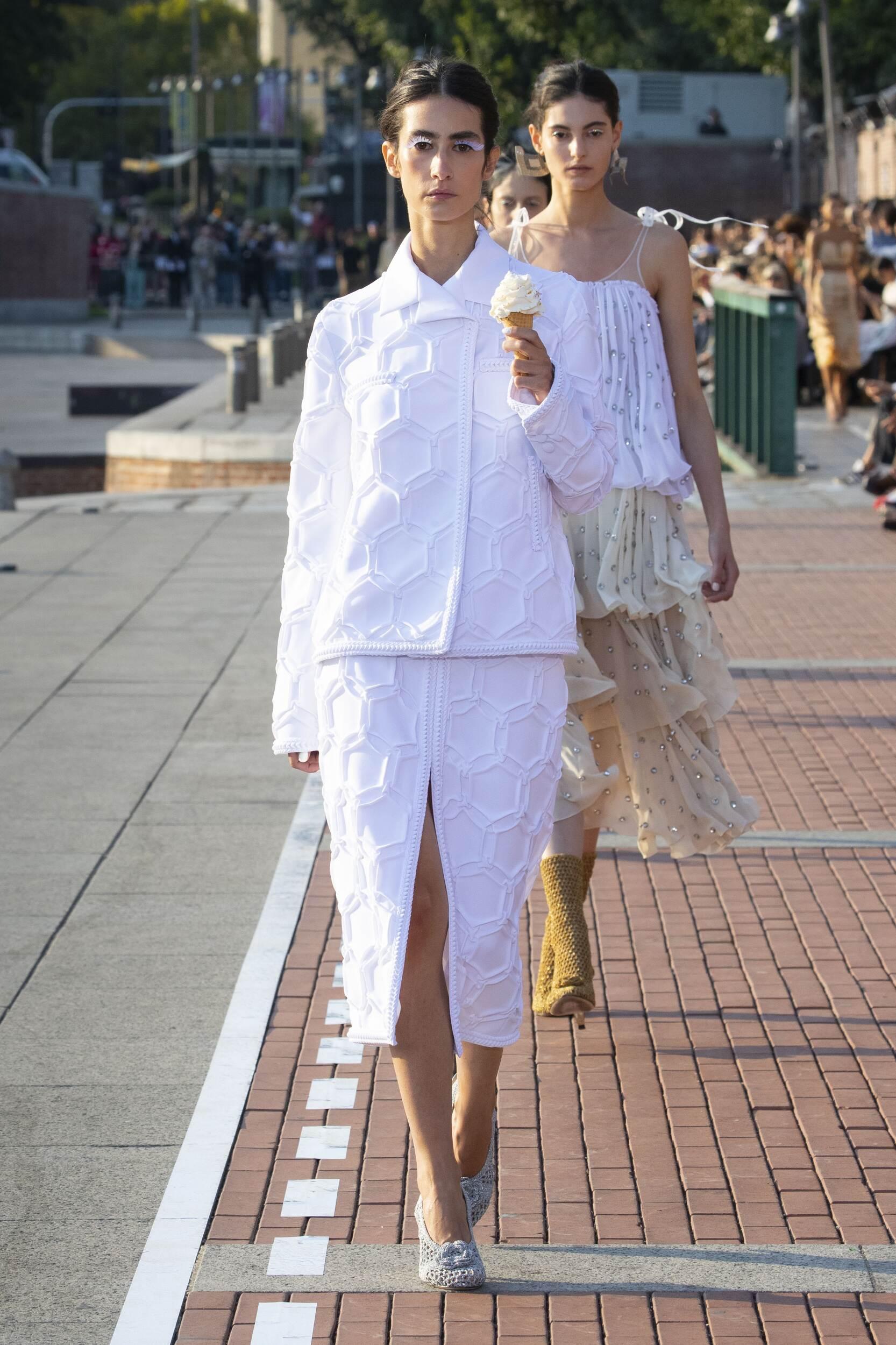 Marco De Vincenzo Spring 2020 Catwalk