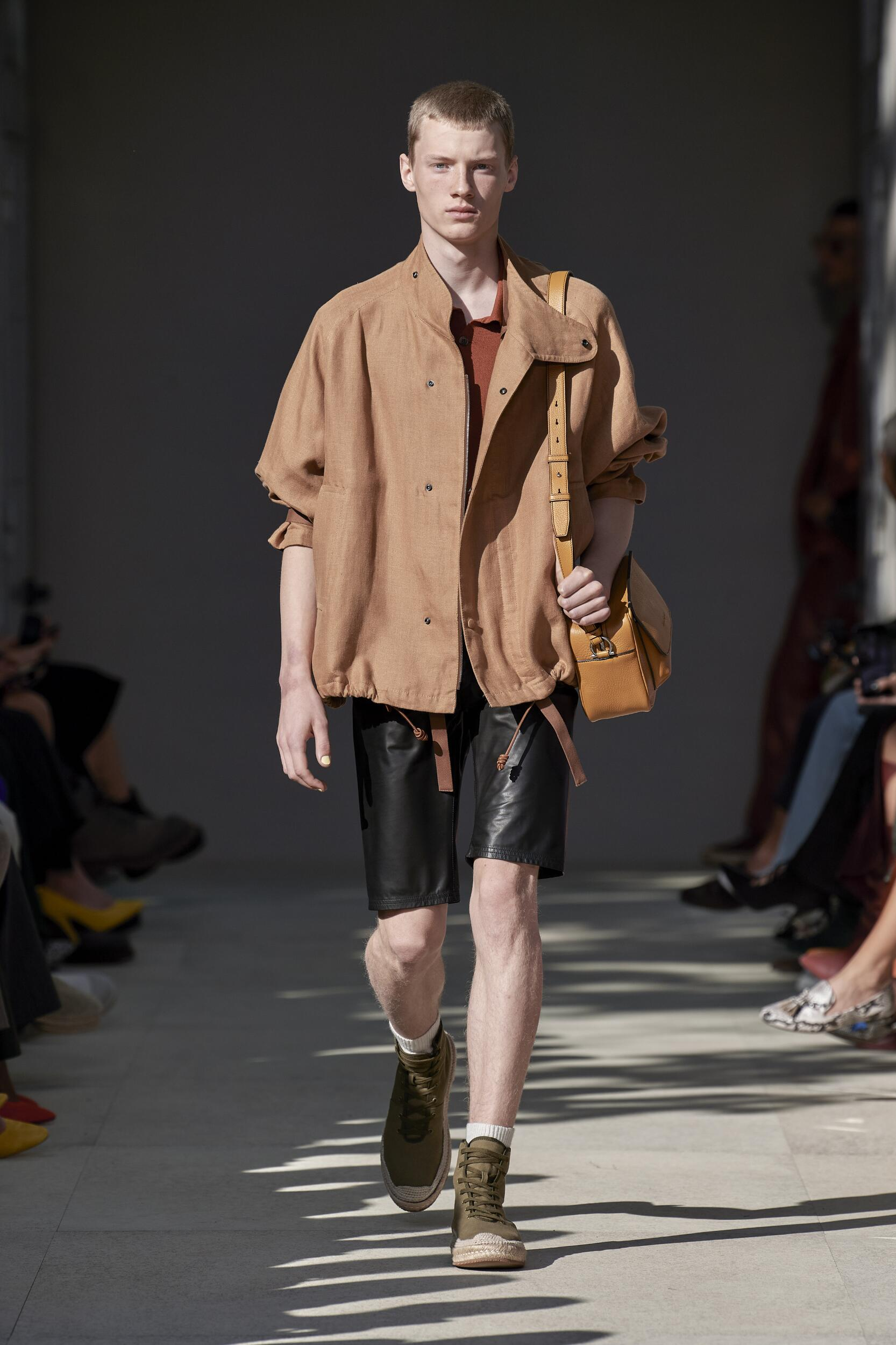 Menswear Spring Summer Salvatore Ferragamo 2020 Trends