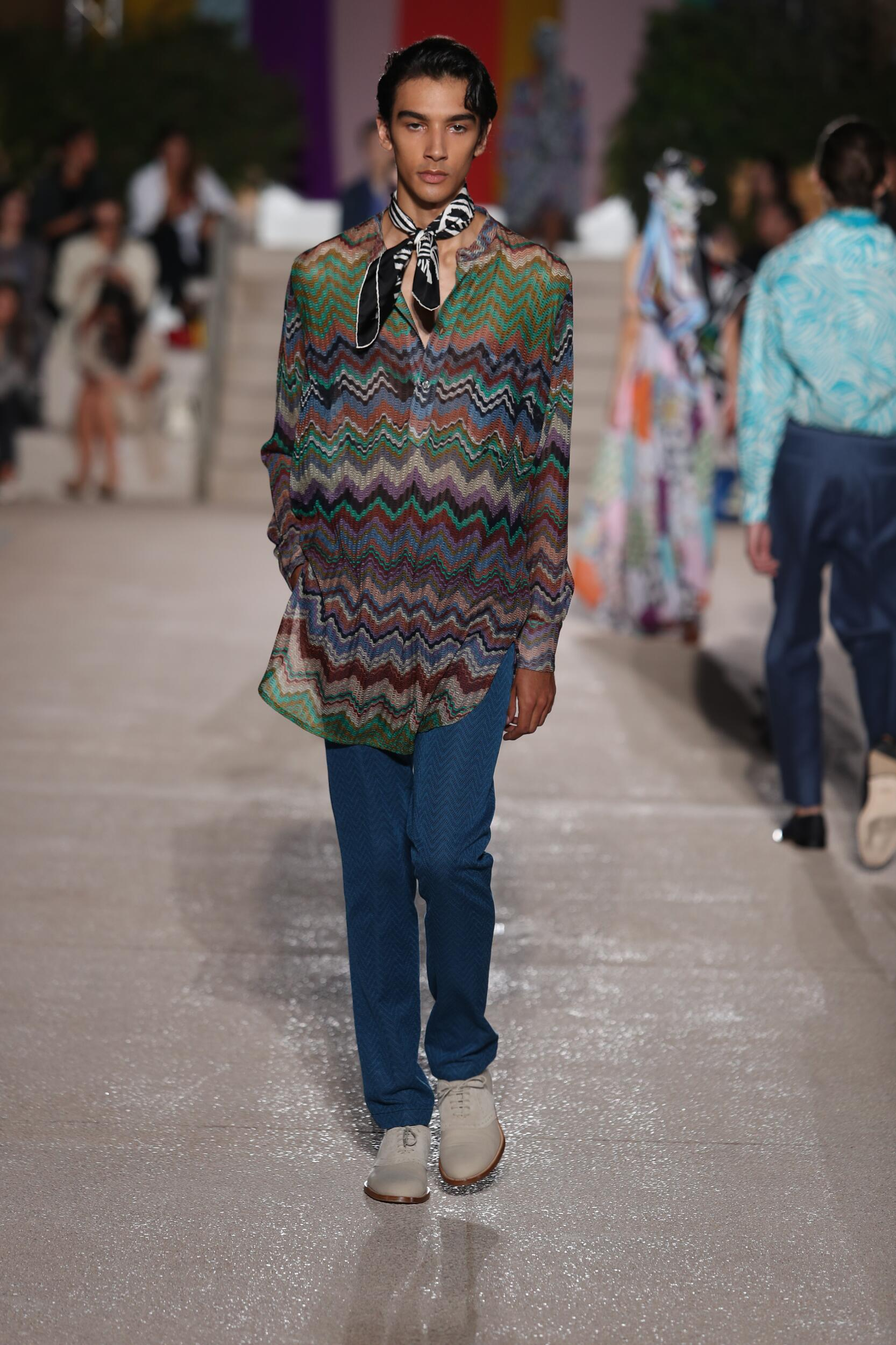 Menswear Summer Missoni 2020
