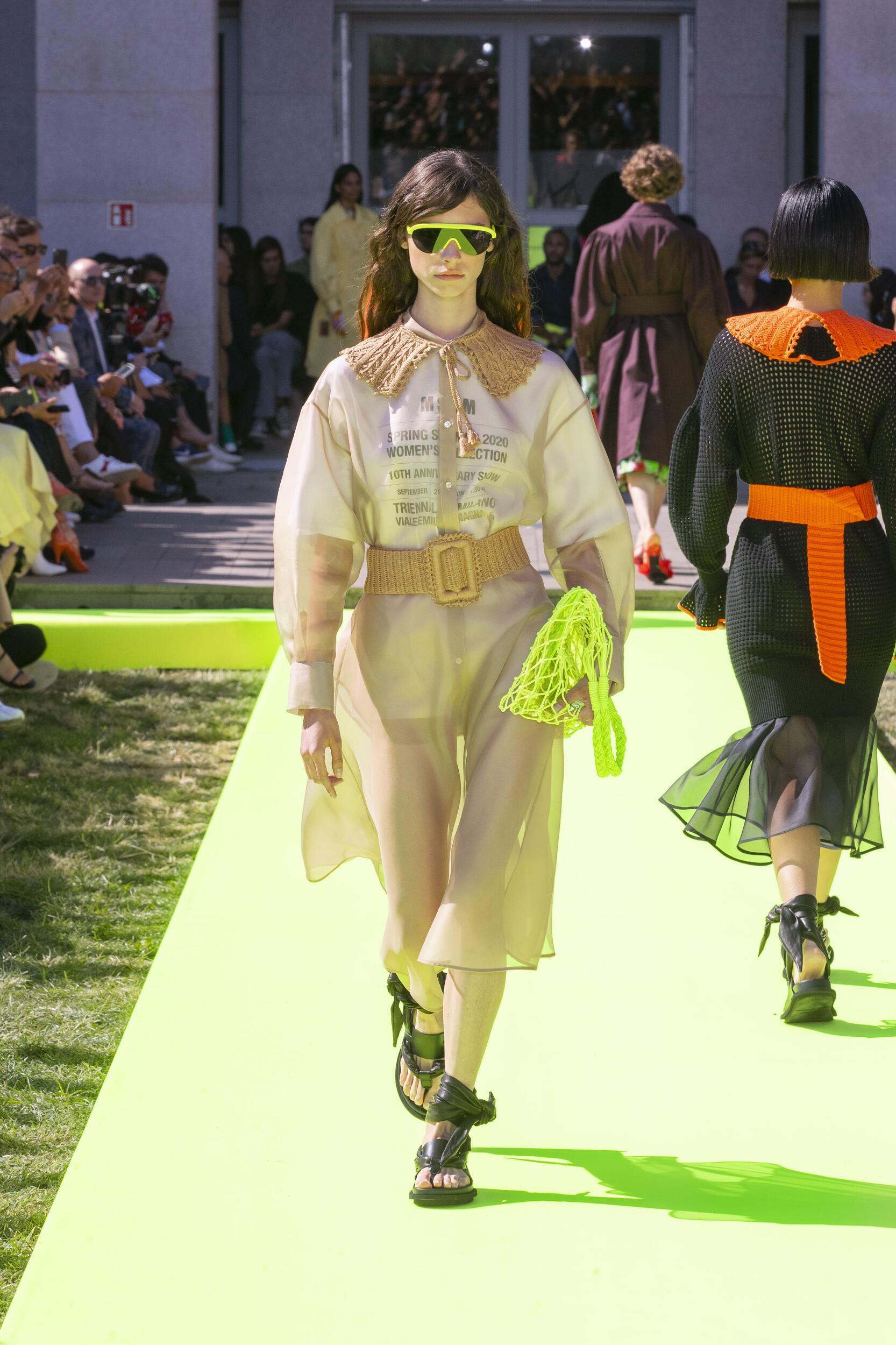 Msgm Spring Summer 2020 Collection Milan Fashion Week
