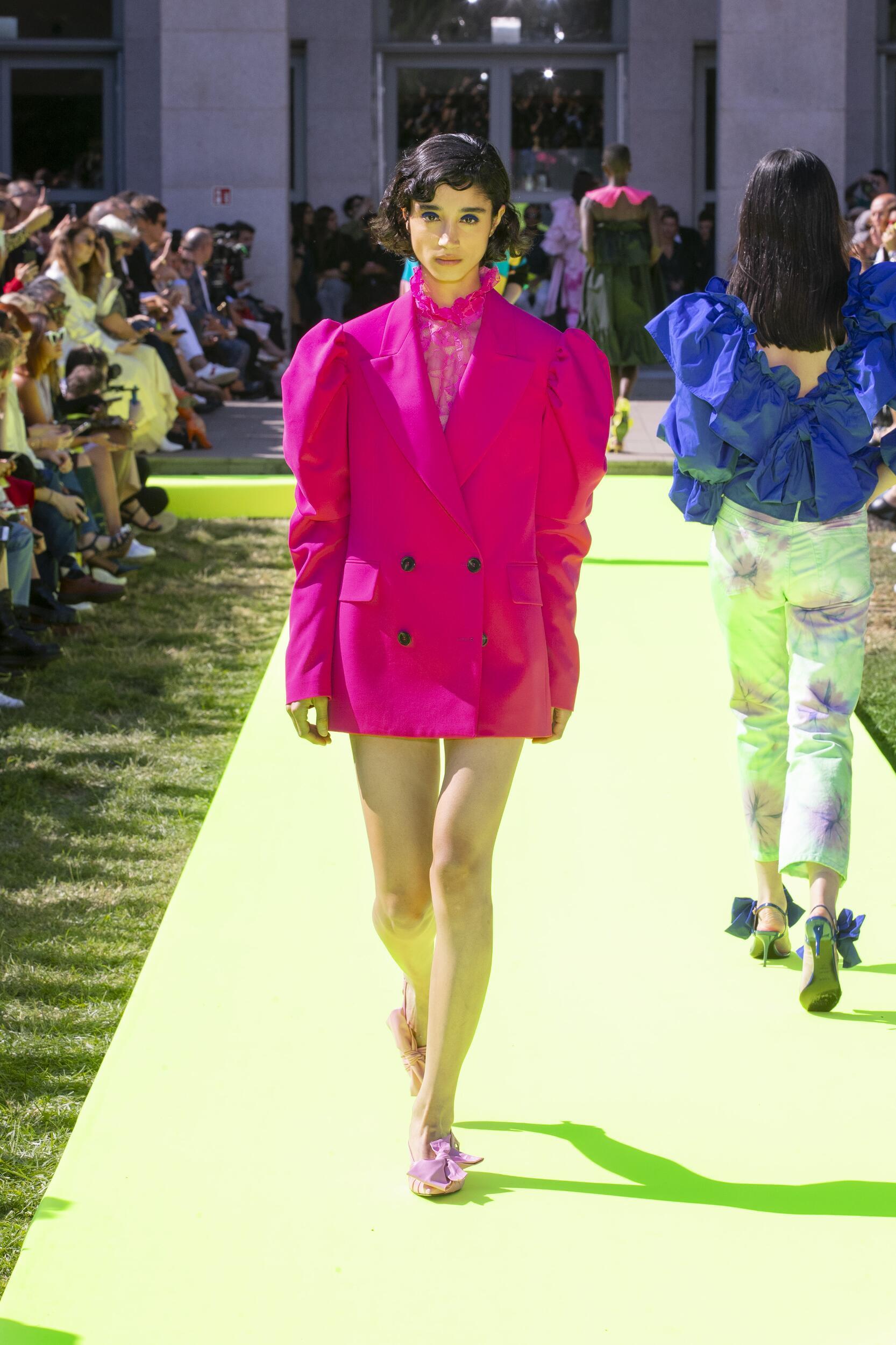 Msgm Summer 2020 Catwalk