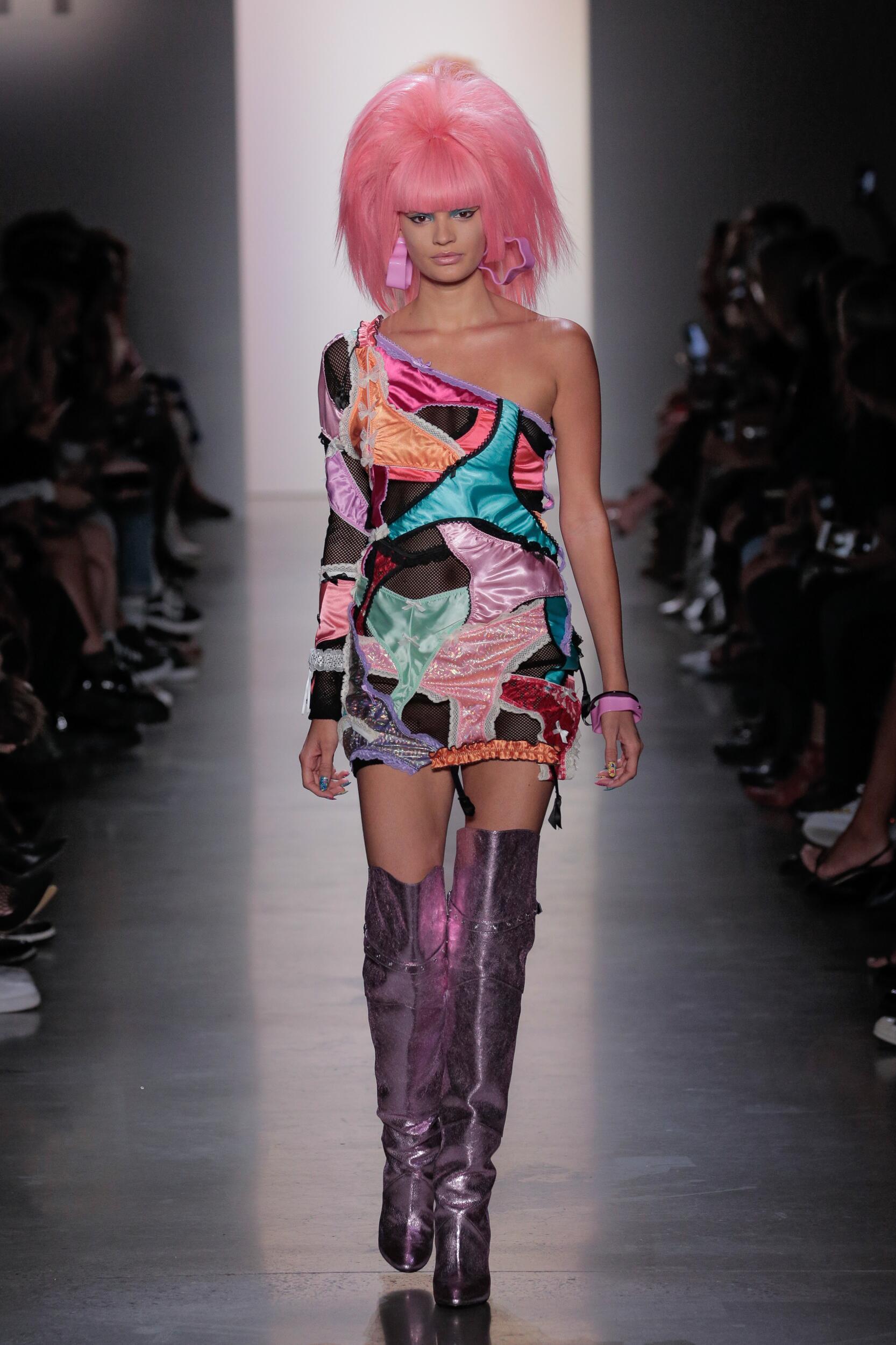 Runway Jeremy Scott Spring Summer 2020 Women's Collection New York Fashion Week