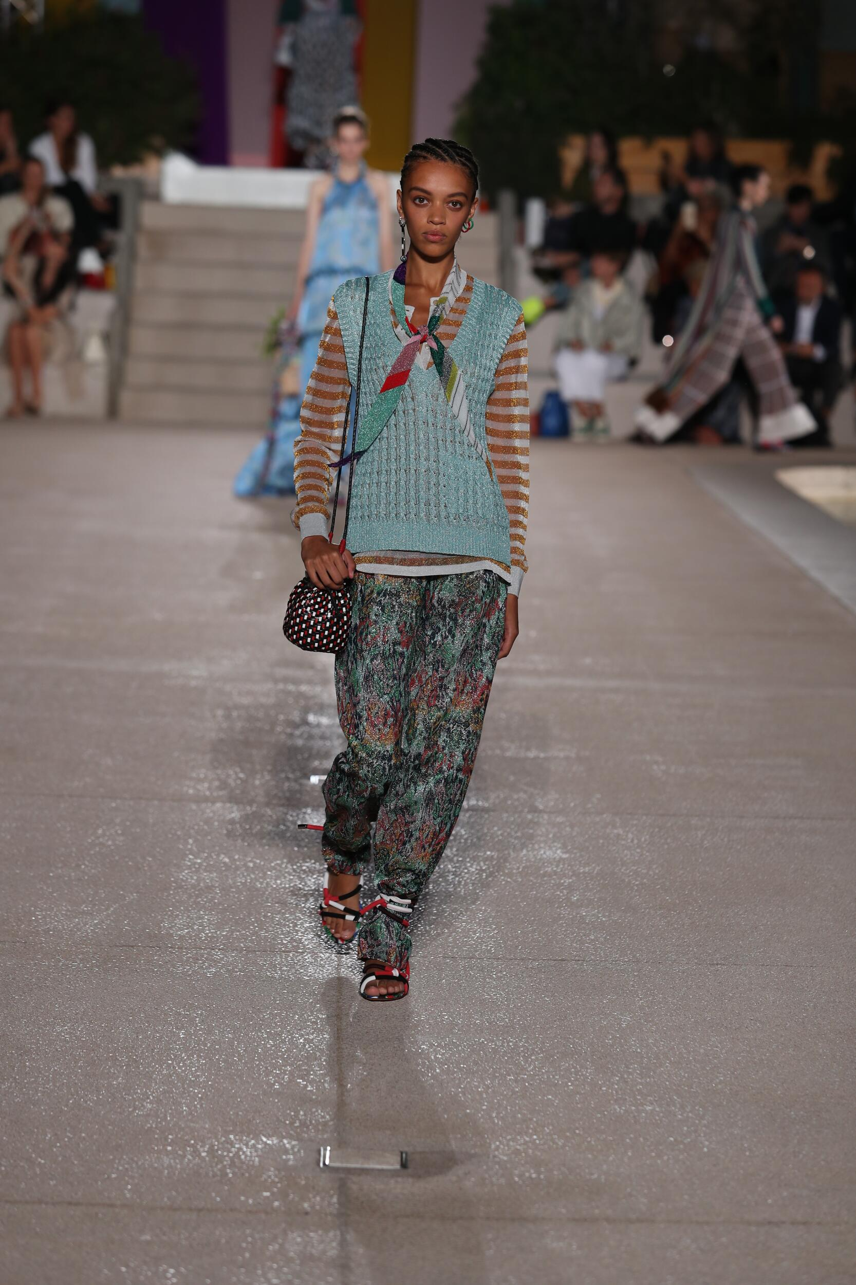 Runway Missoni Spring Summer 2020 Women's Collection Milan Fashion Week