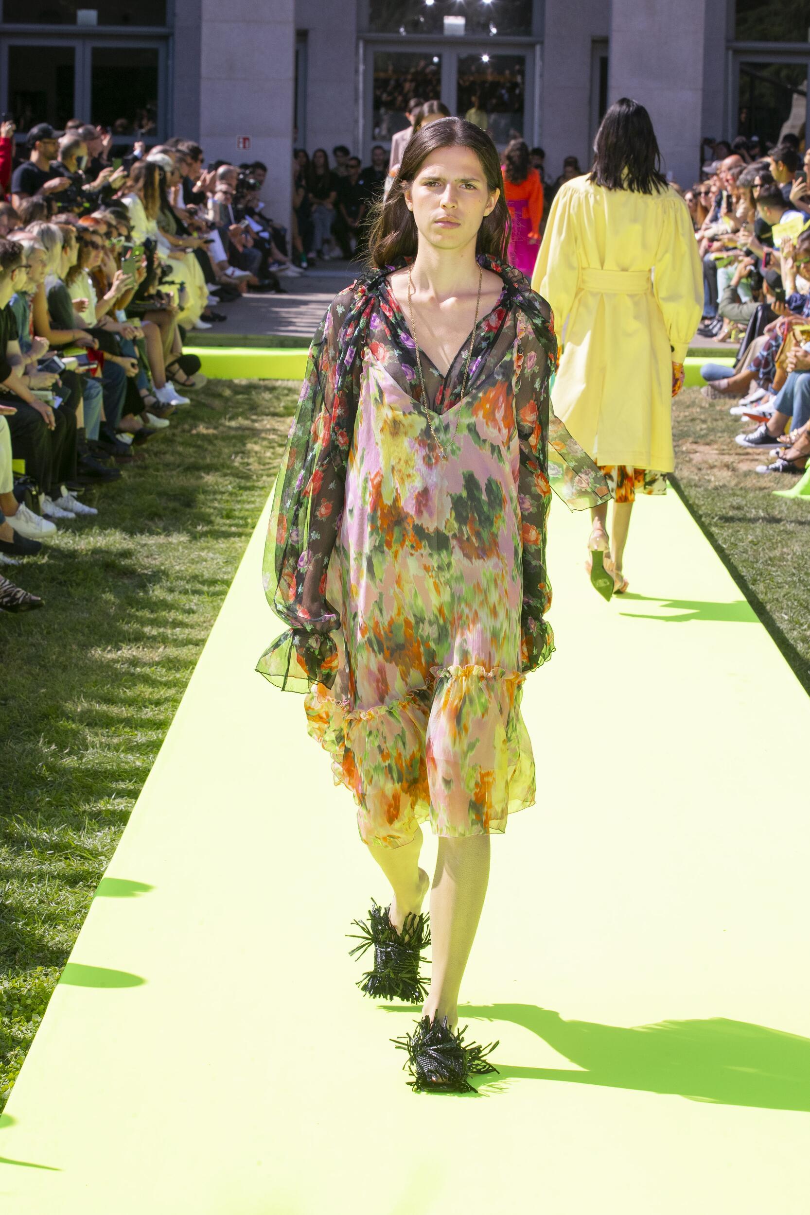 Runway Msgm Spring Summer 2020 Women's Collection Milan Fashion Week