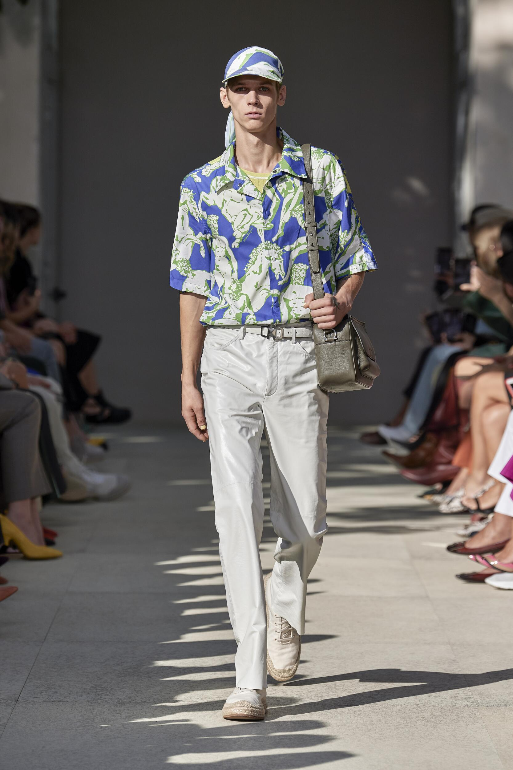 Runway Salvatore Ferragamo Spring Summer 2020 Men Collection Milan Fashion Week