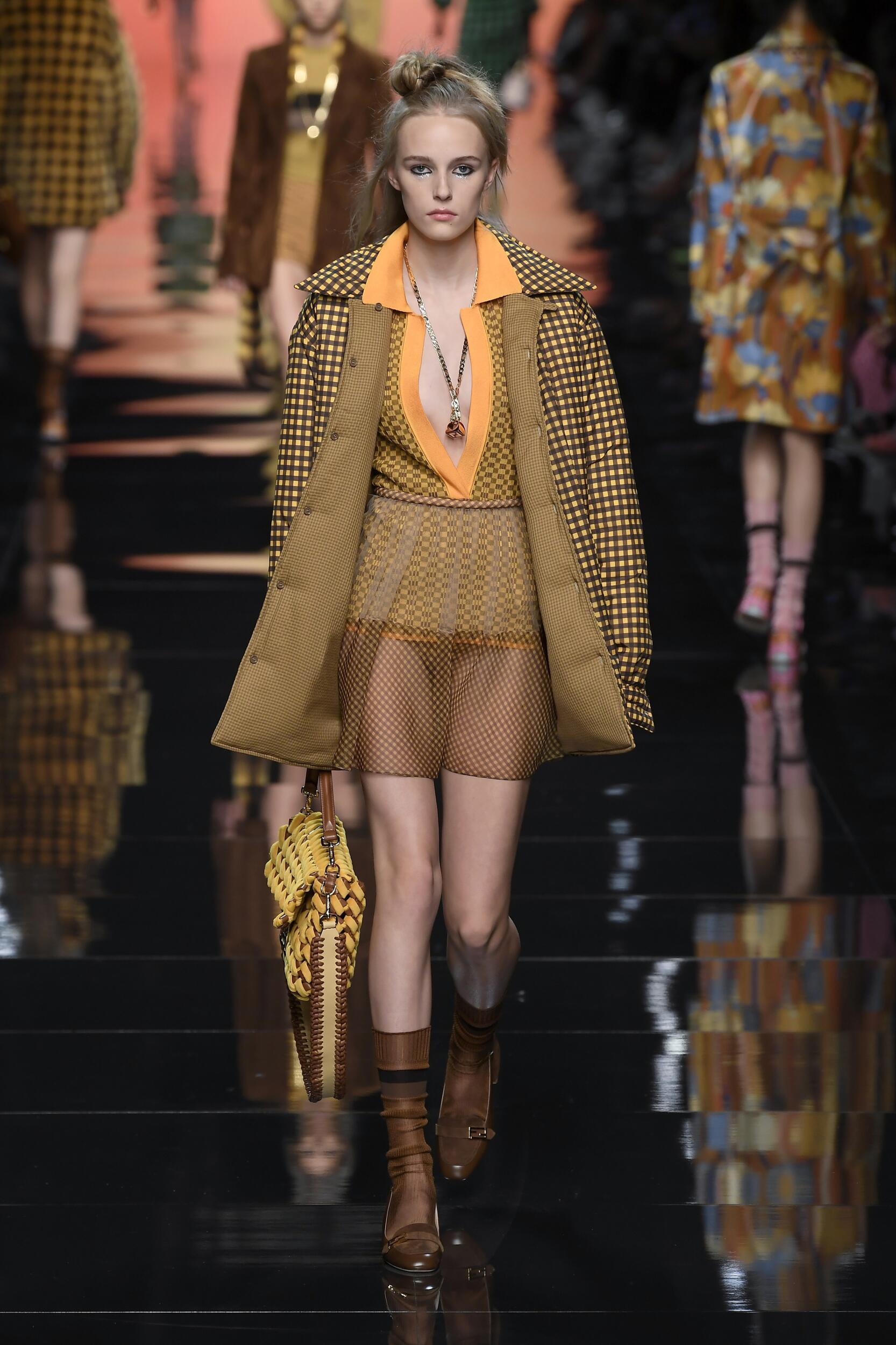Spring 2020 Fashion Trends Fendi