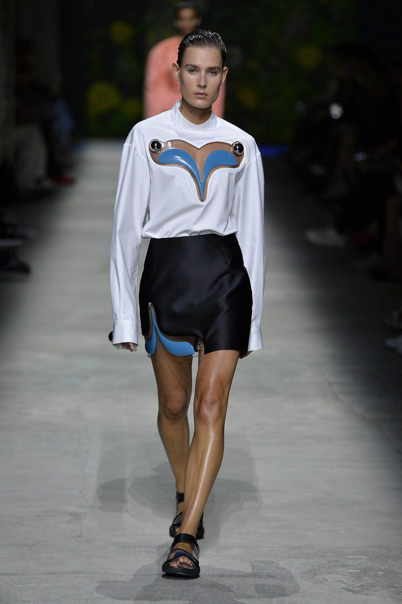 Spring Summer 2020 Woman London Christopher Kane Collection