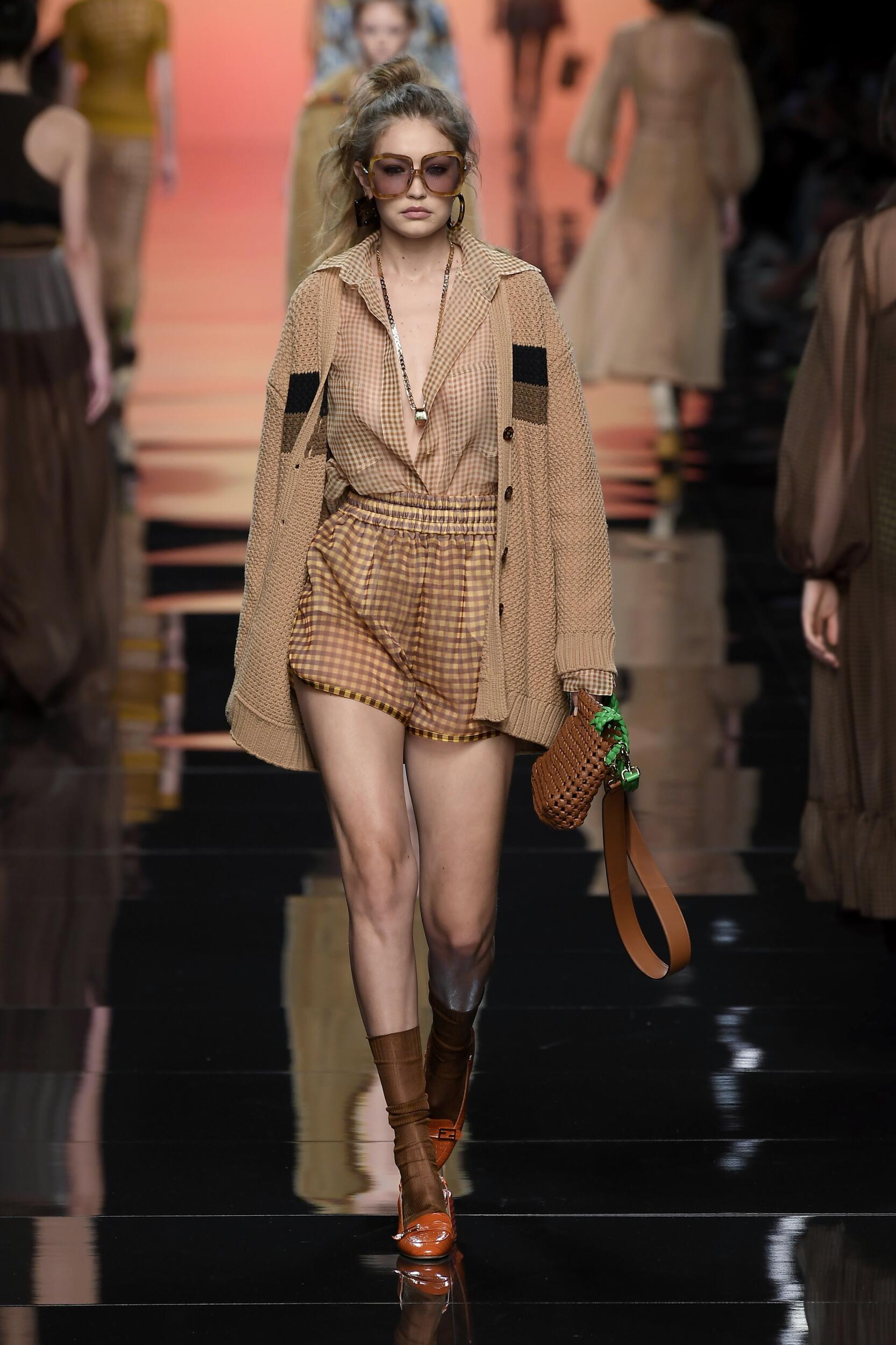 Spring Summer 2020 Woman Milan Fendi Collection