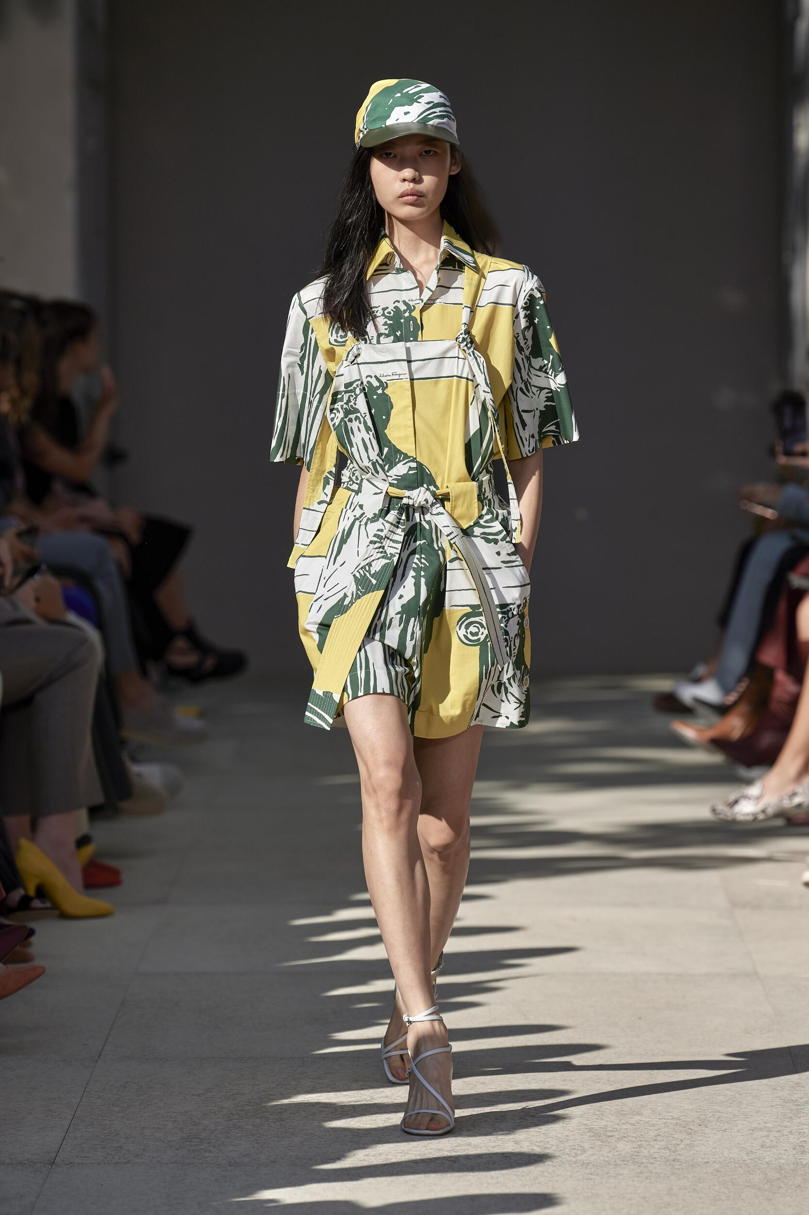Spring Summer 2020 Woman Milan Salvatore Ferragamo Collection