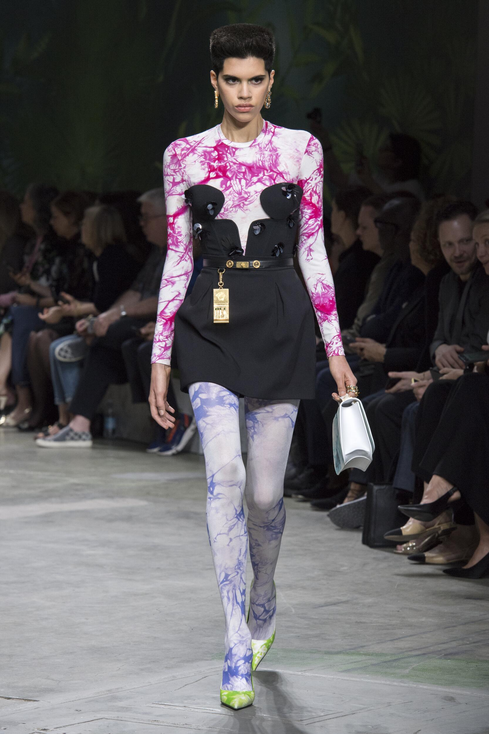 Spring Summer 2020 Woman Milan Versace Collection
