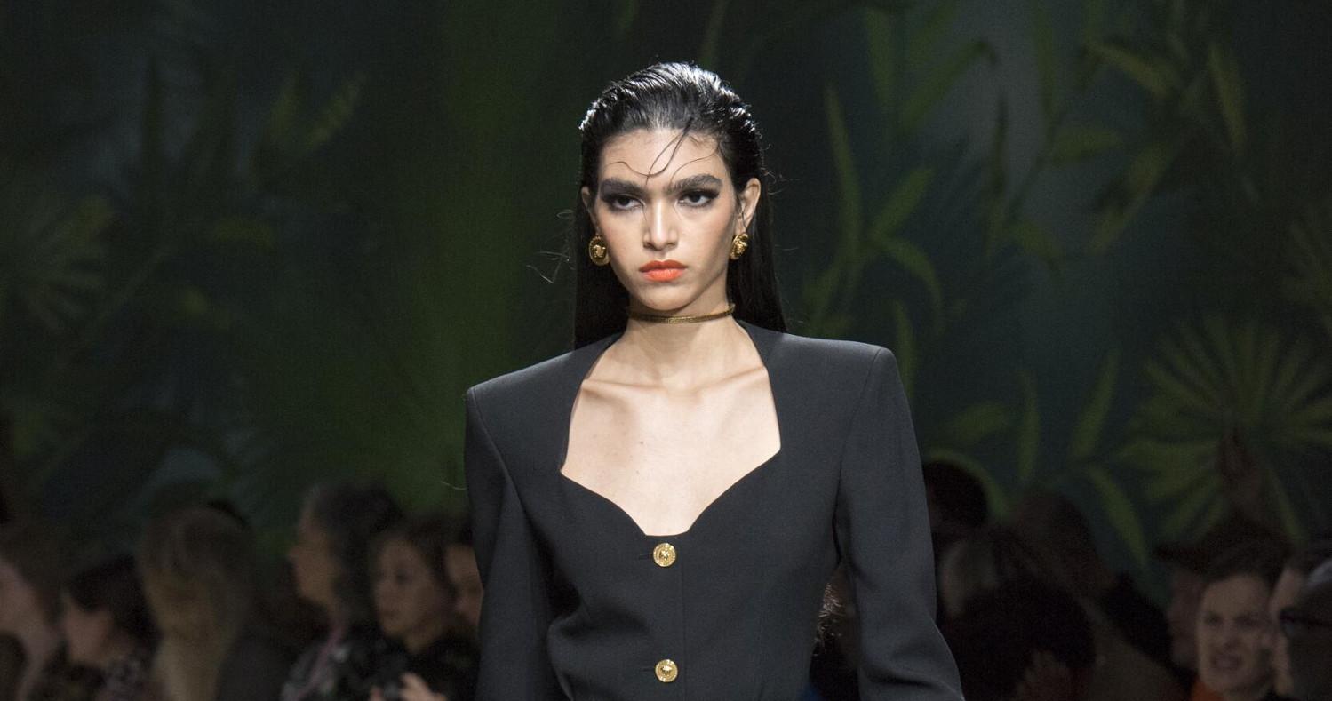 Versace Fashion Show SS 2020 Milan