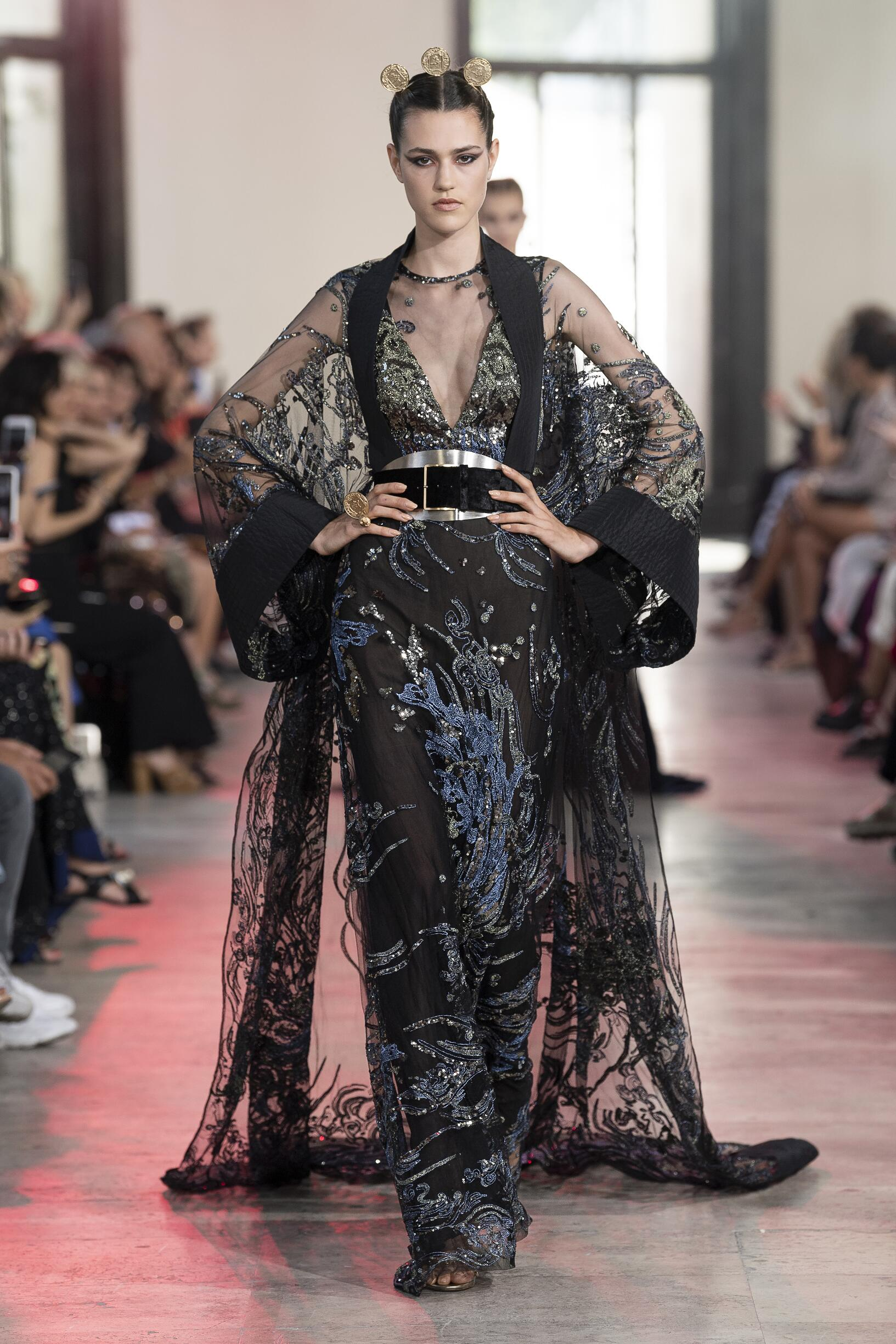 Woman FW 2019 Elie Saab Haute Couture