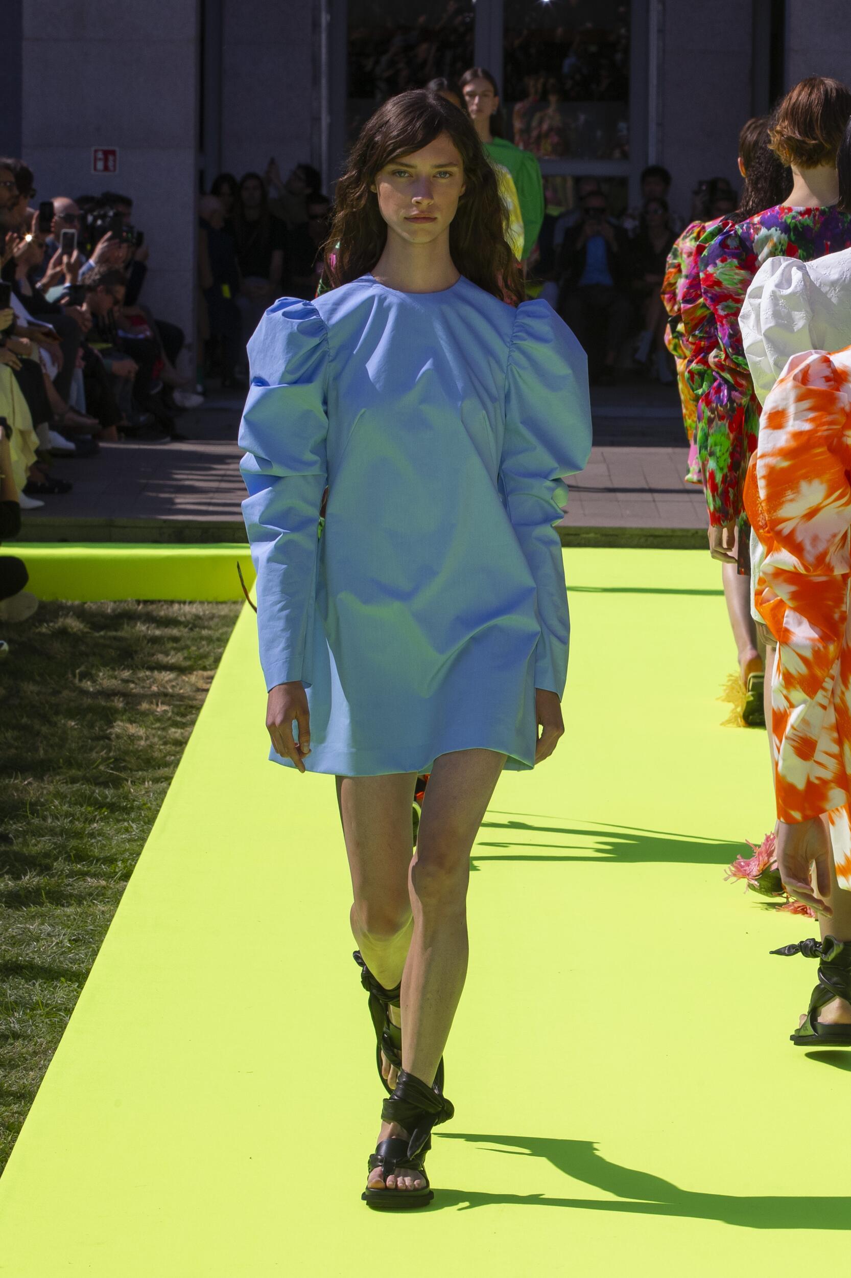 Woman SS 2020 Msgm Show Milan Fashion Week