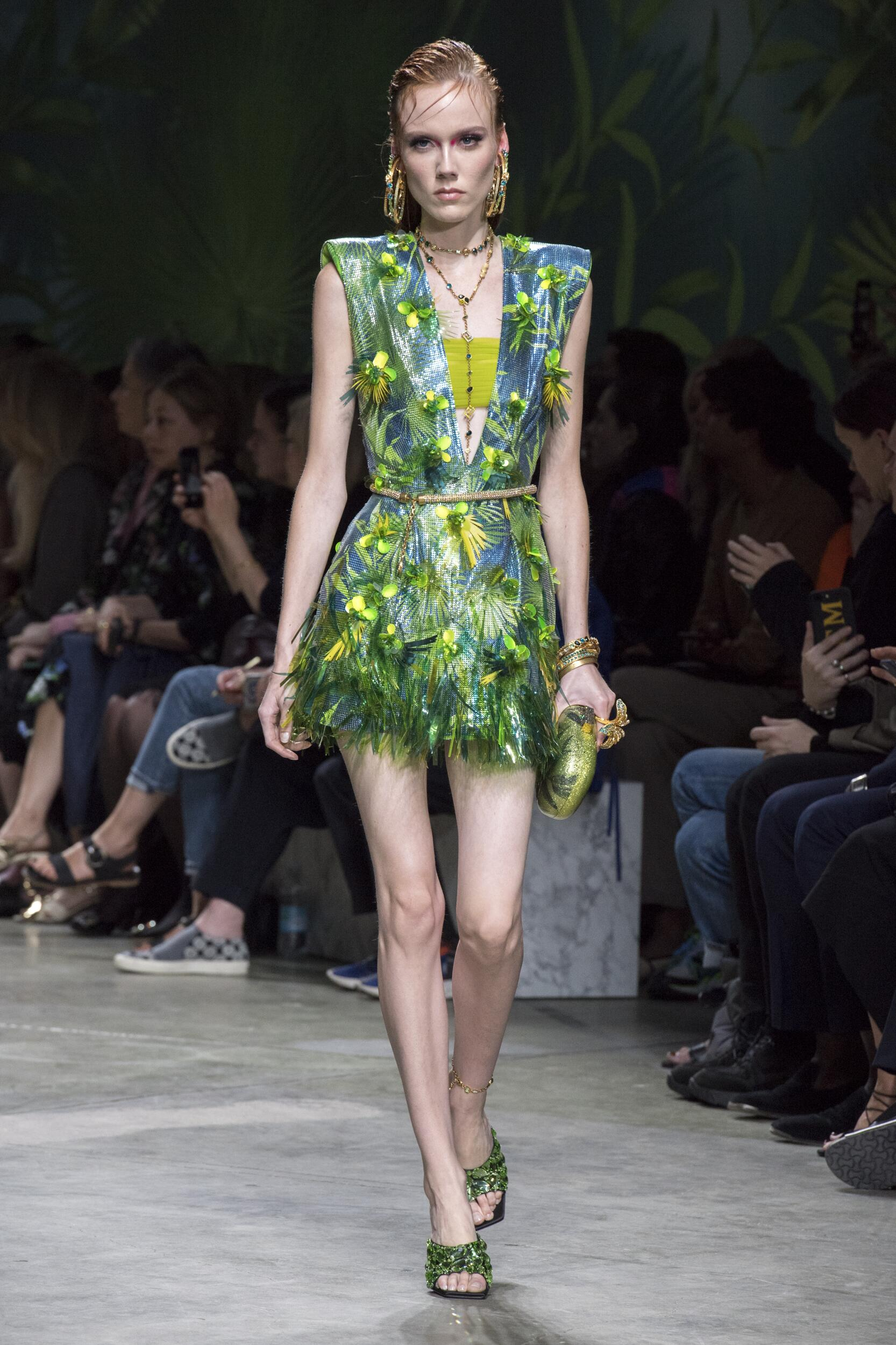 Woman SS 2020 Versace Show Milan Fashion Week
