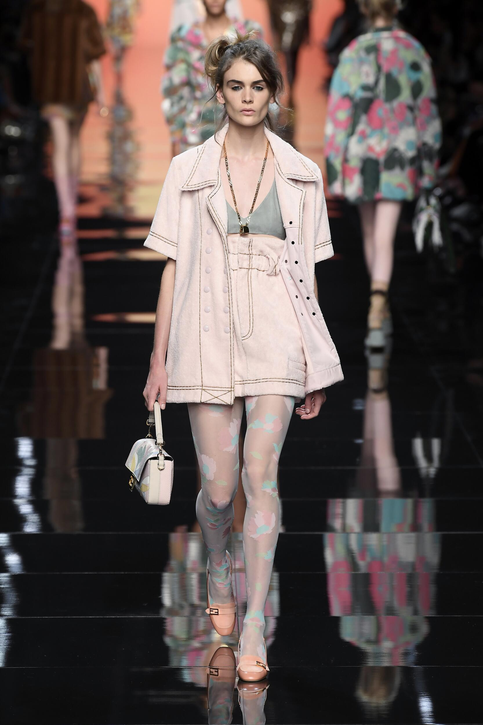 FENDI SPRING SUMMER 2020 WOMEN'S COLLECTION | The Skinny Beep