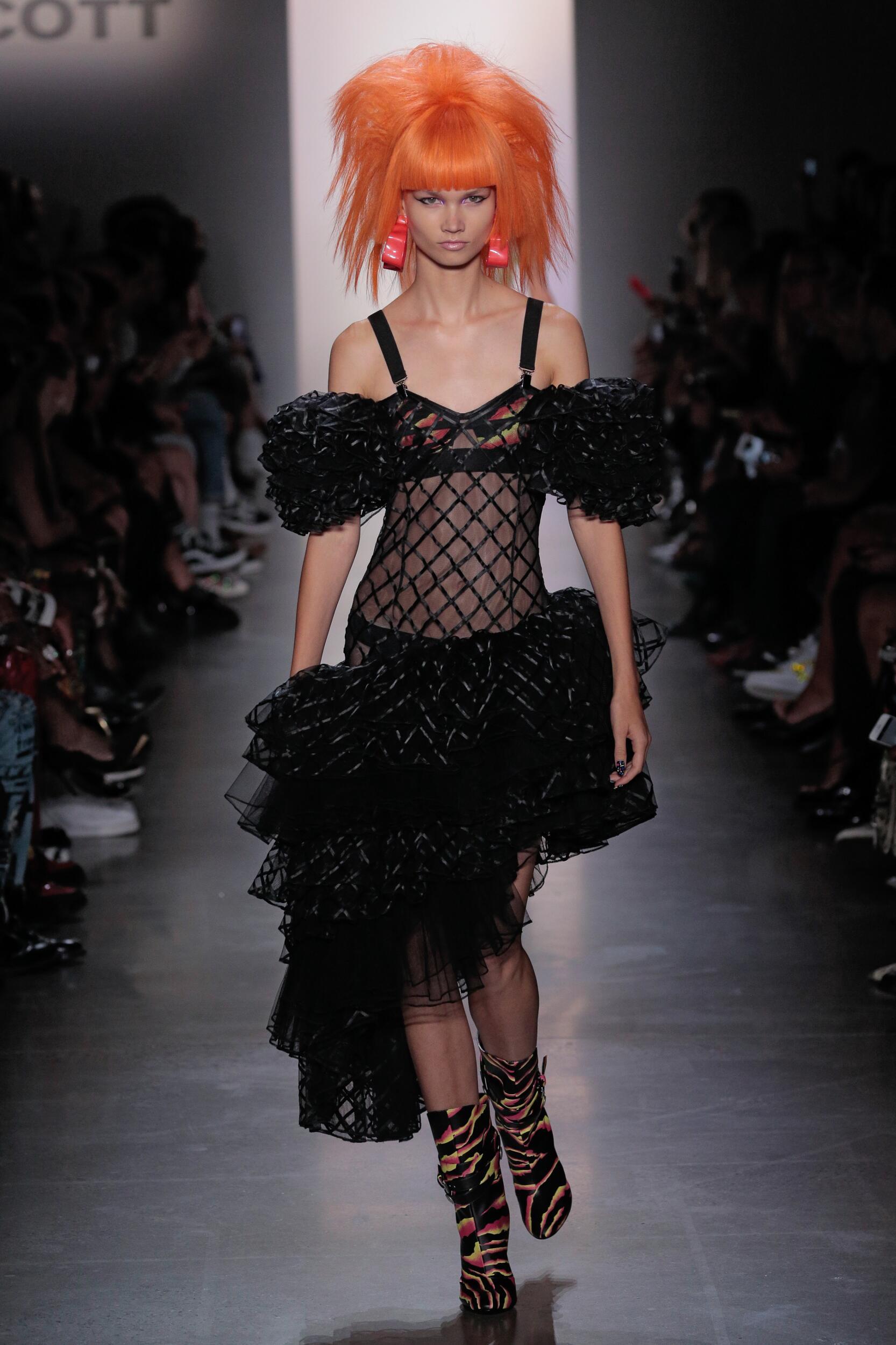 Womenswear Spring Summer Jeremy Scott 2020