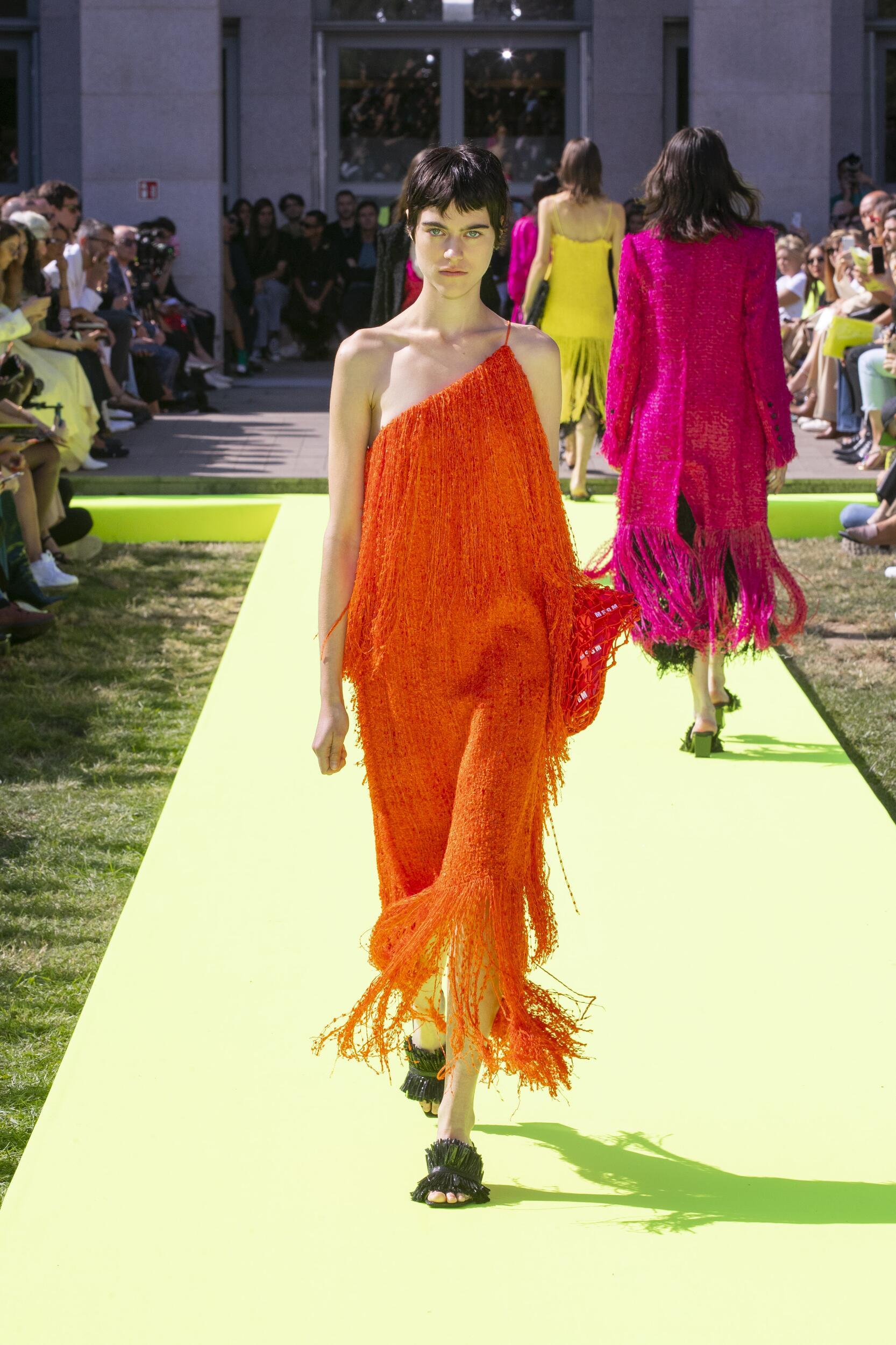 Womenswear Spring Summer Msgm 2020