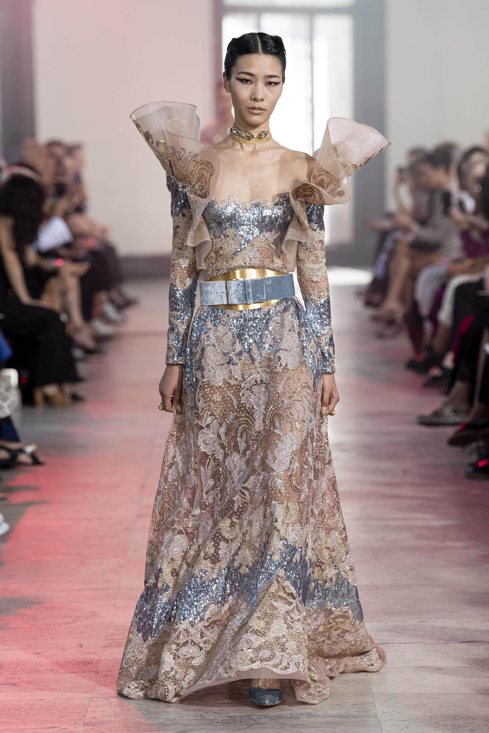 Womenswear Winter Elie Saab Haute Couture 2019