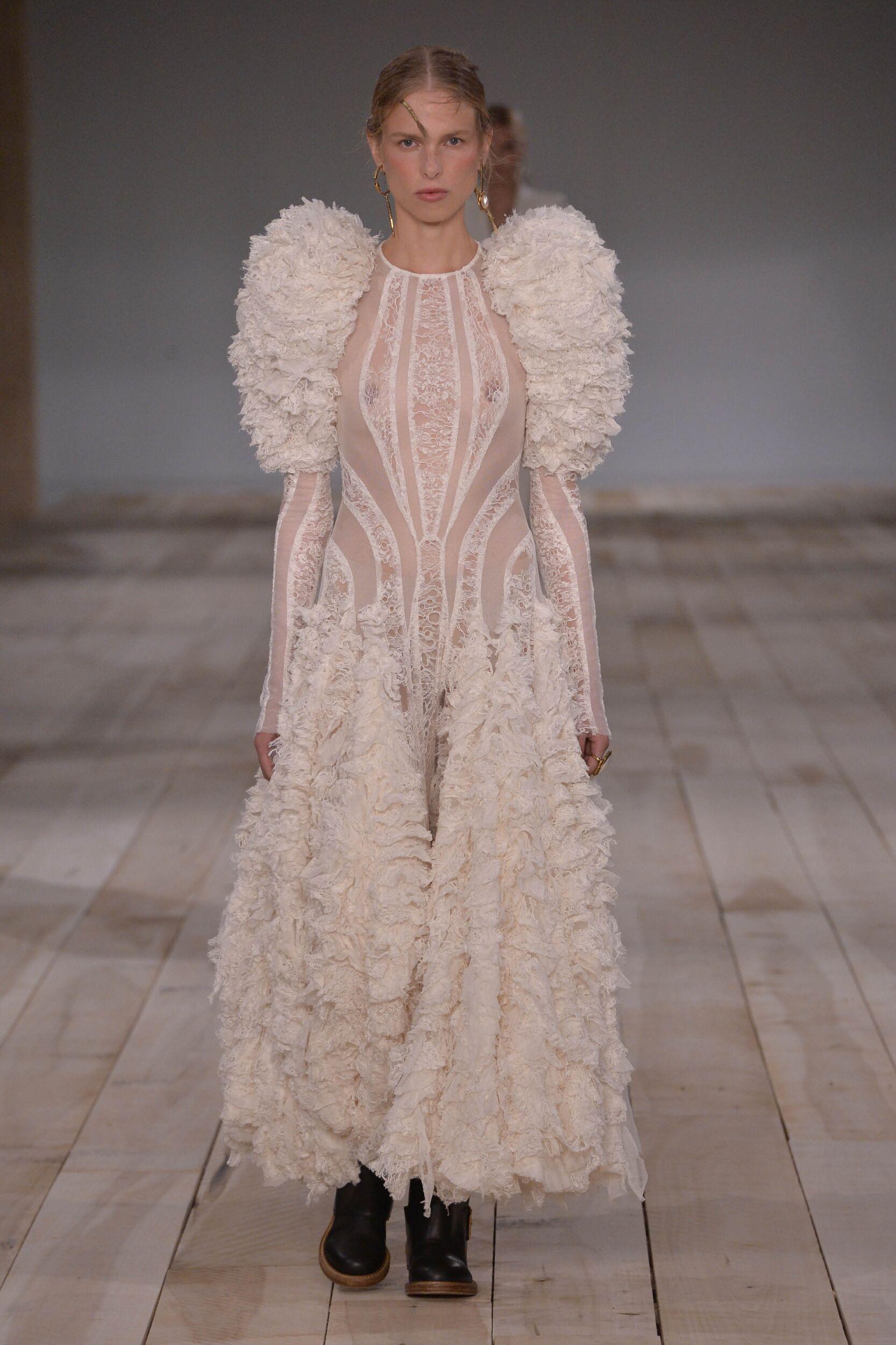 2020 Alexander McQueen Spring Summer Woman