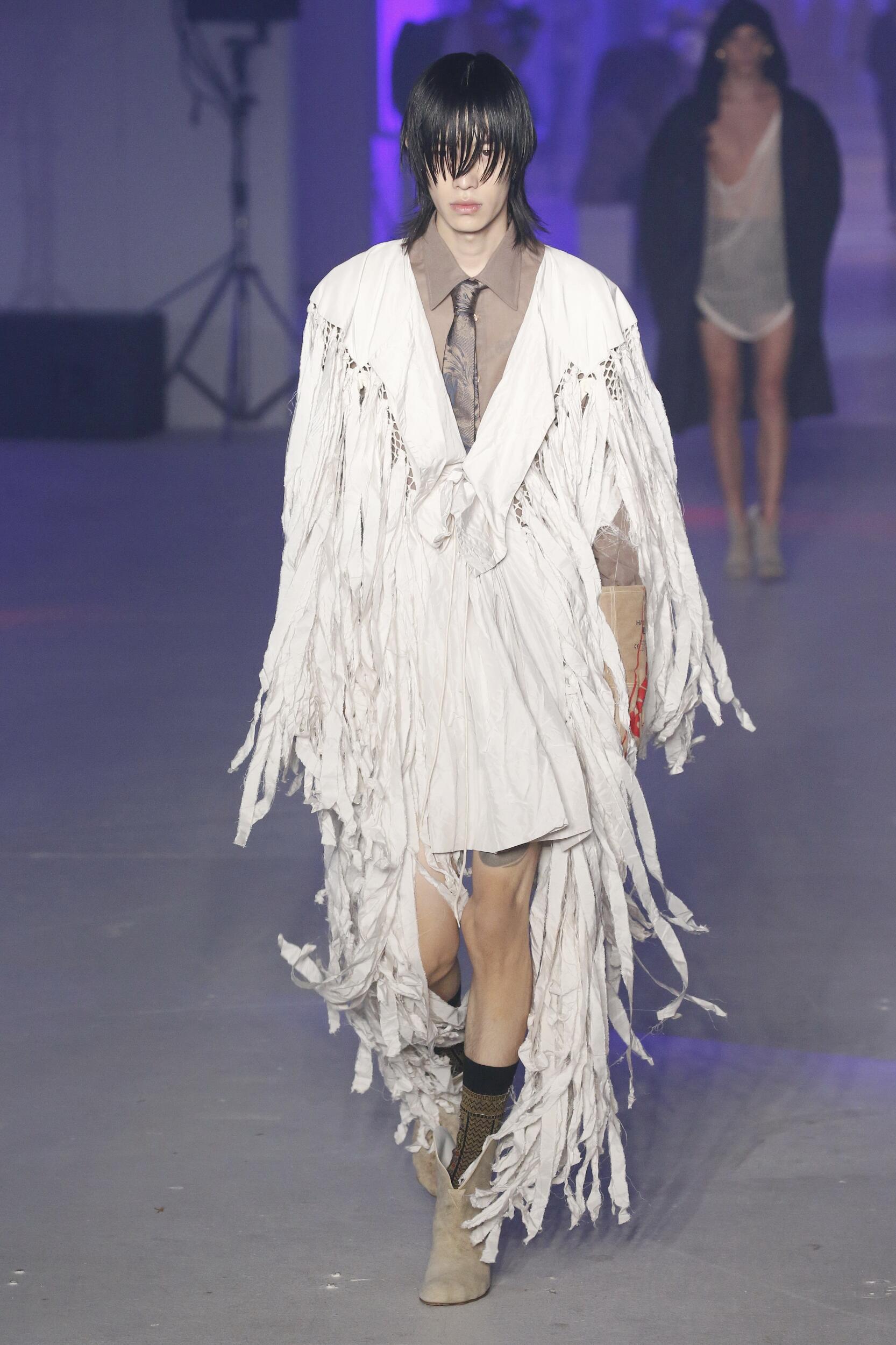 2020 Andreas Kronthaler for Vivienne Westwood Spring Summer Man
