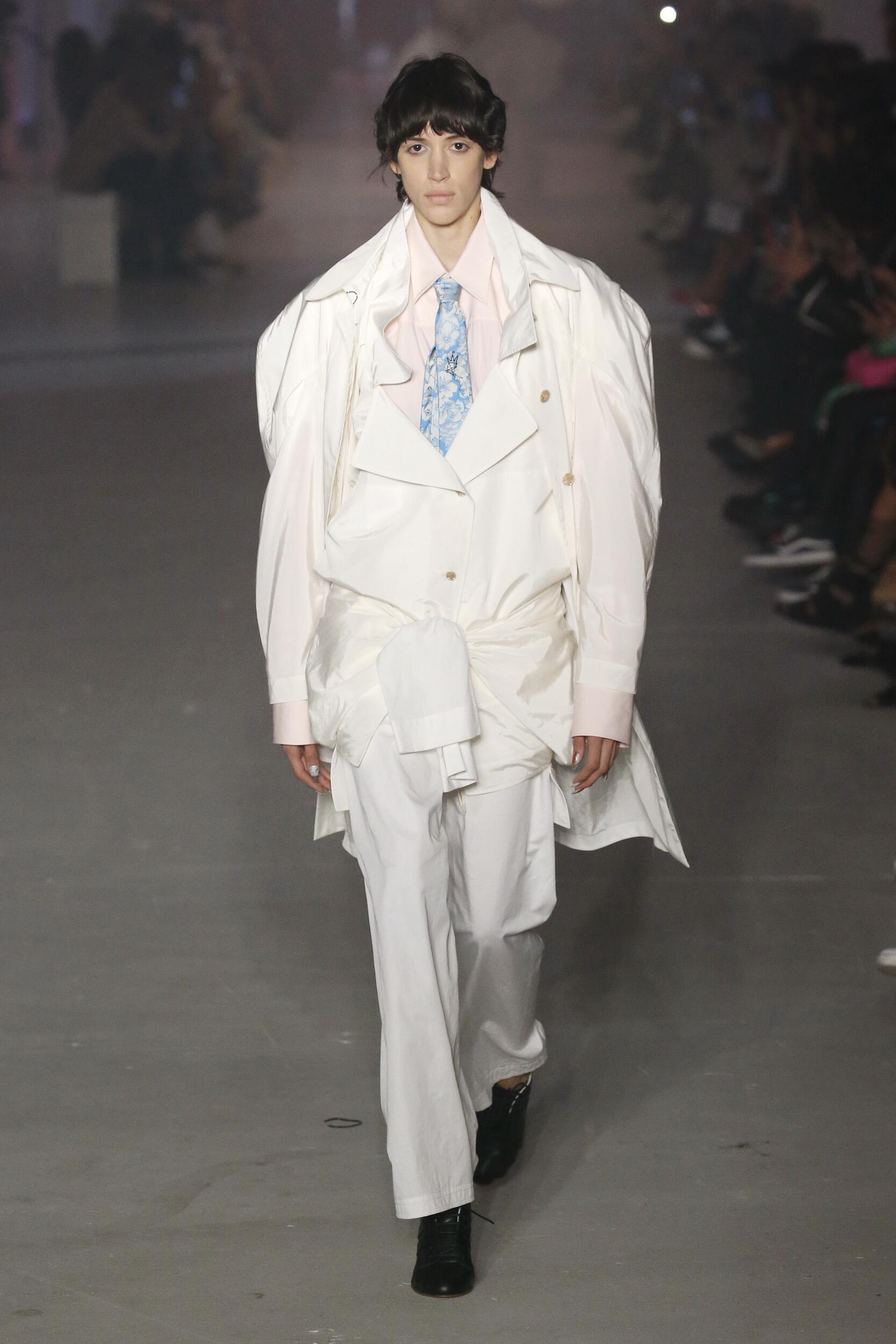 2020 Andreas Kronthaler for Vivienne Westwood Summer Runway Show