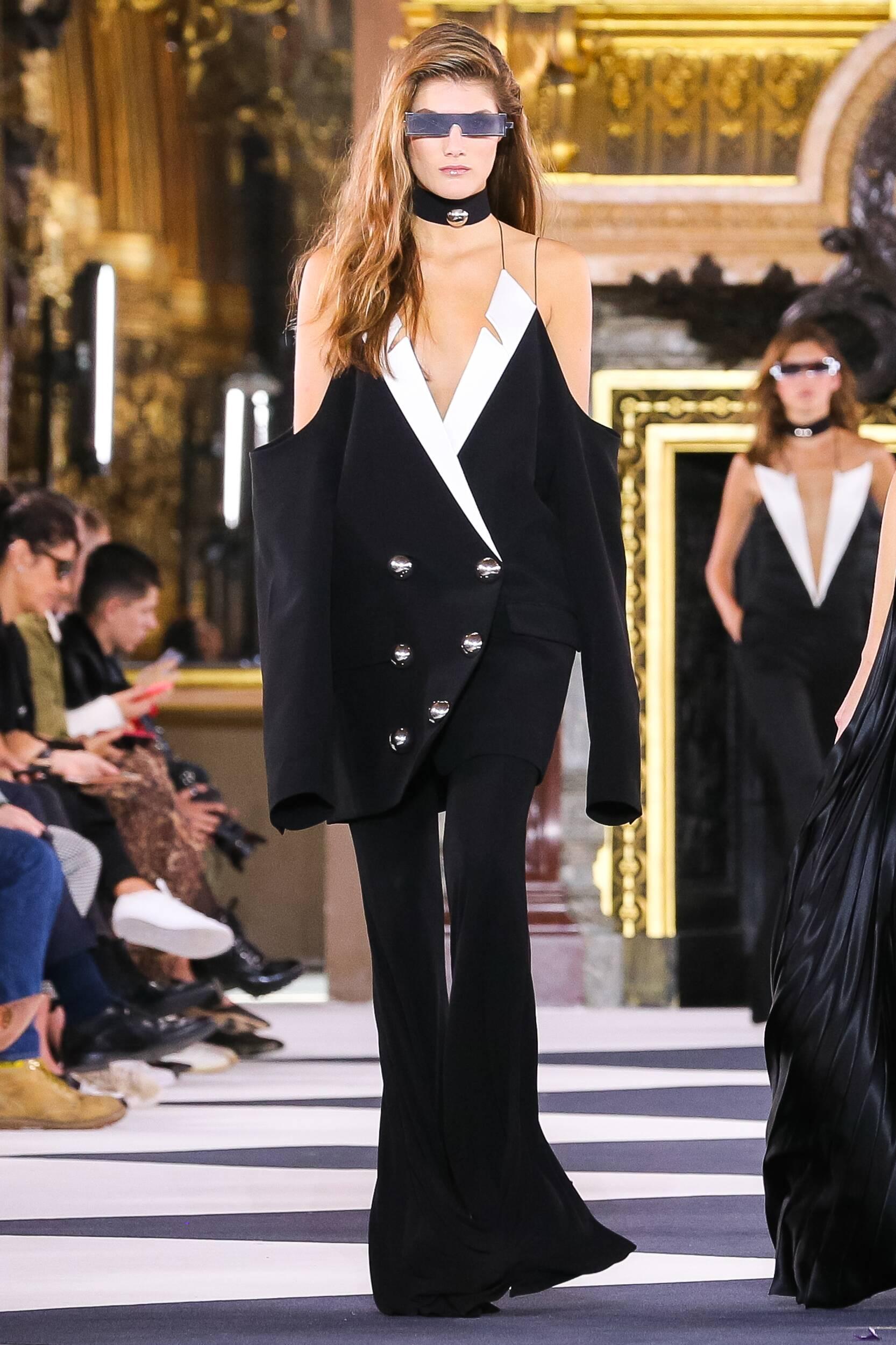 2020 Balmain Trends Paris Fashion Show Paris