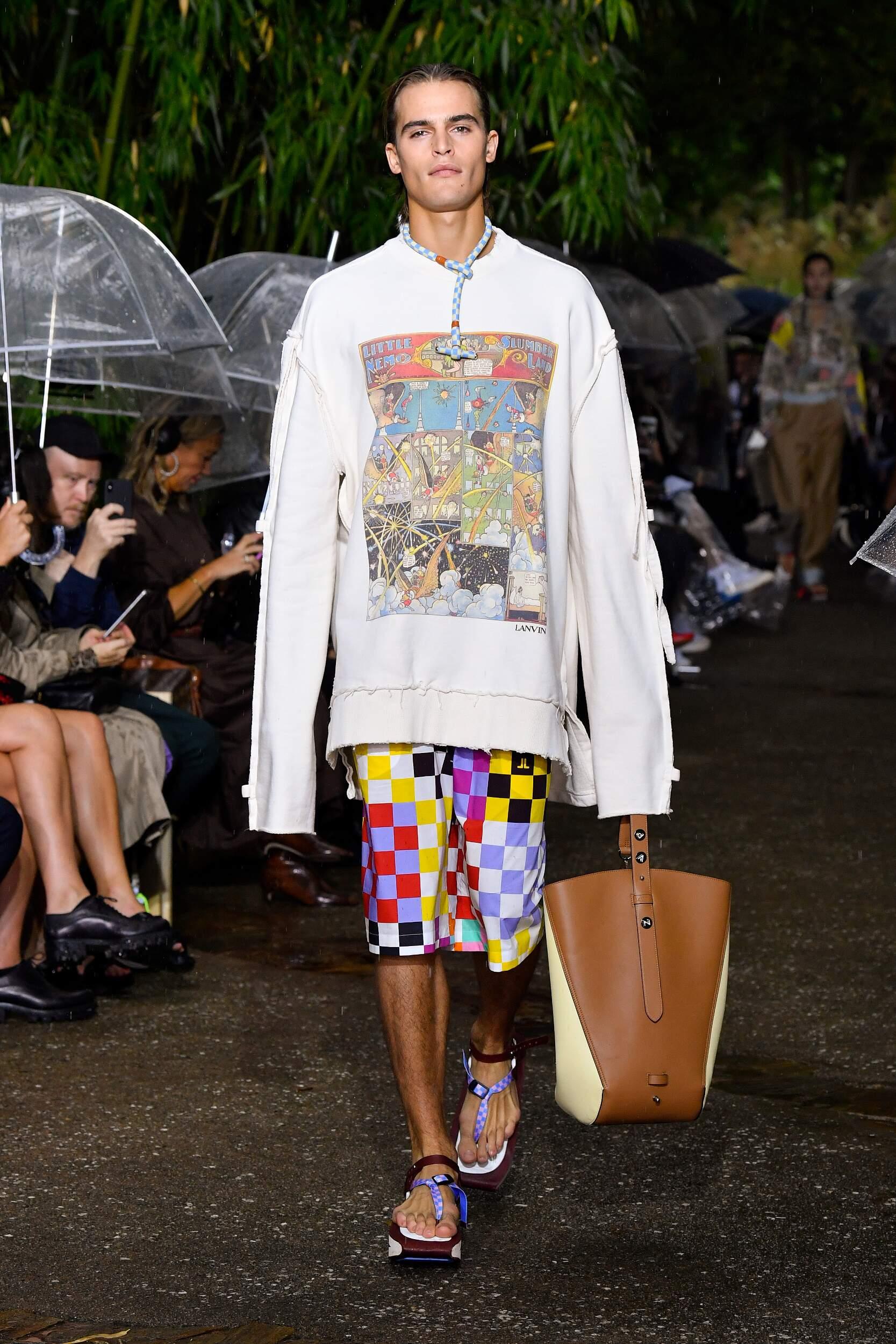 2020 Catwalk Lanvin Fashion Show Summer
