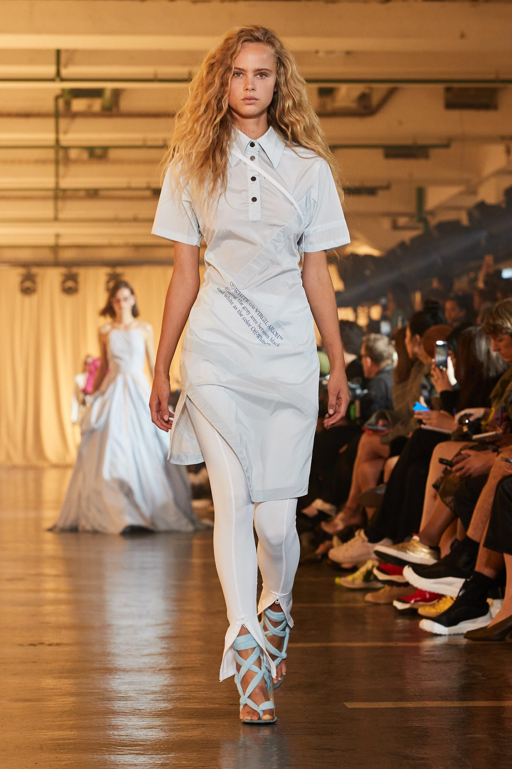 2020 Catwalk Off White c/o Virgil Abloh Summer Woman Collection
